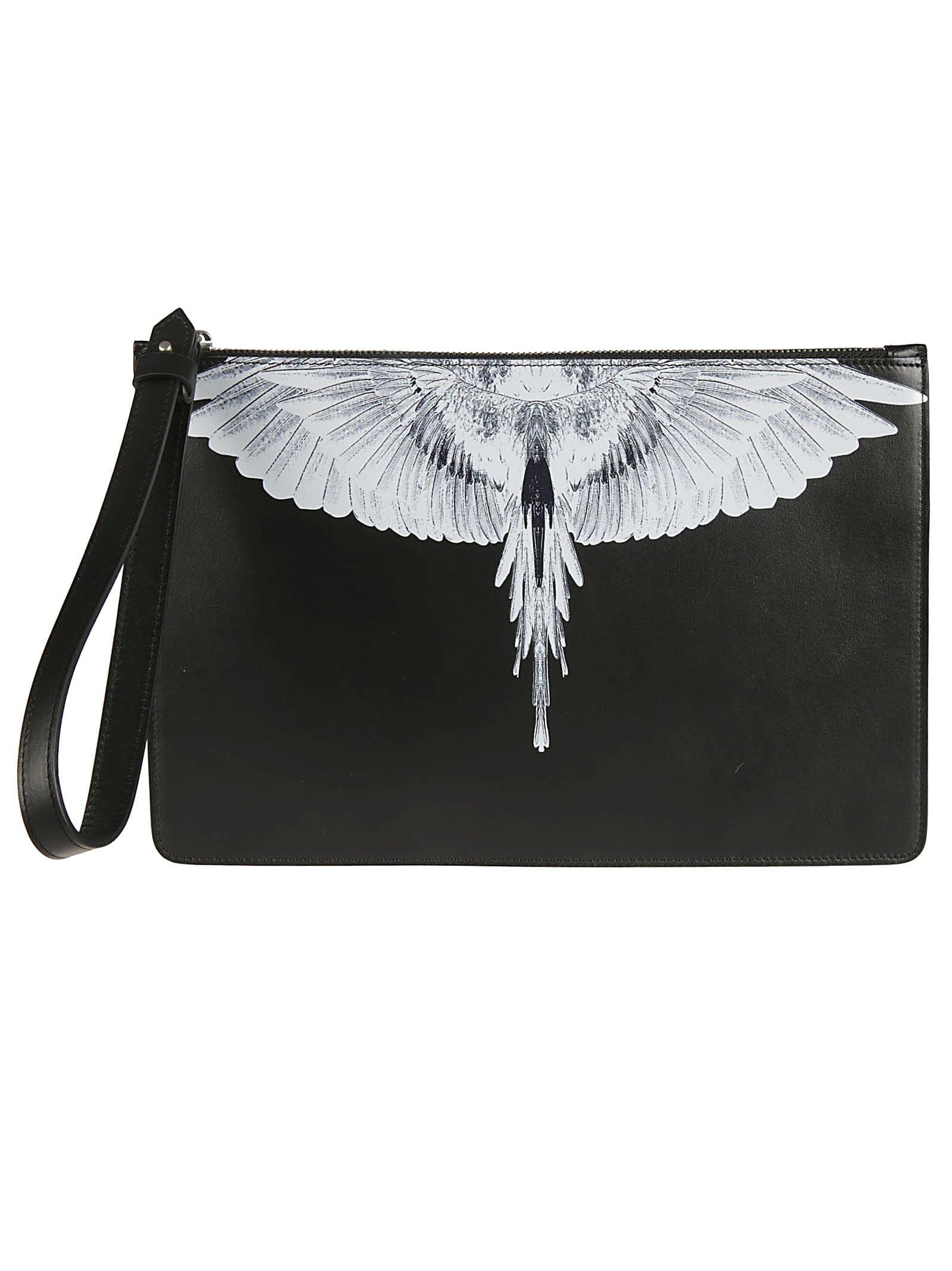 Wings Leather Pochette