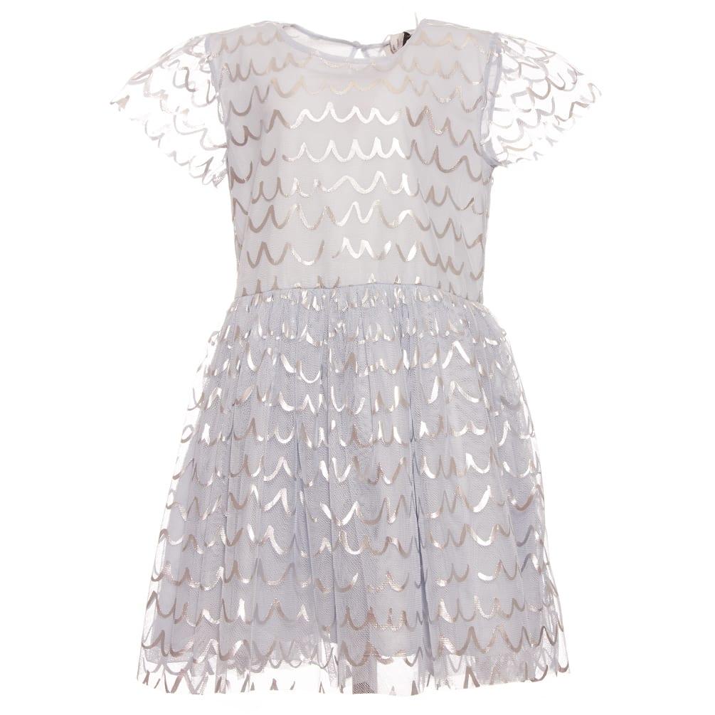 Buy Stella McCartney Tulle Dress W/ Foil online, shop Stella McCartney with free shipping