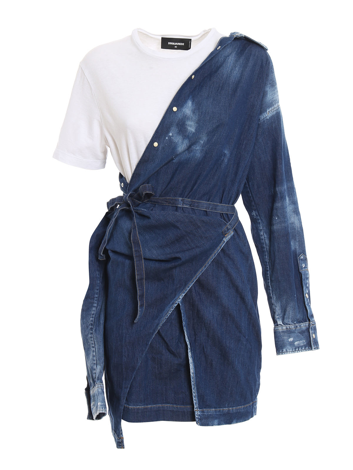 Dsquared2 Faded Denim Dress