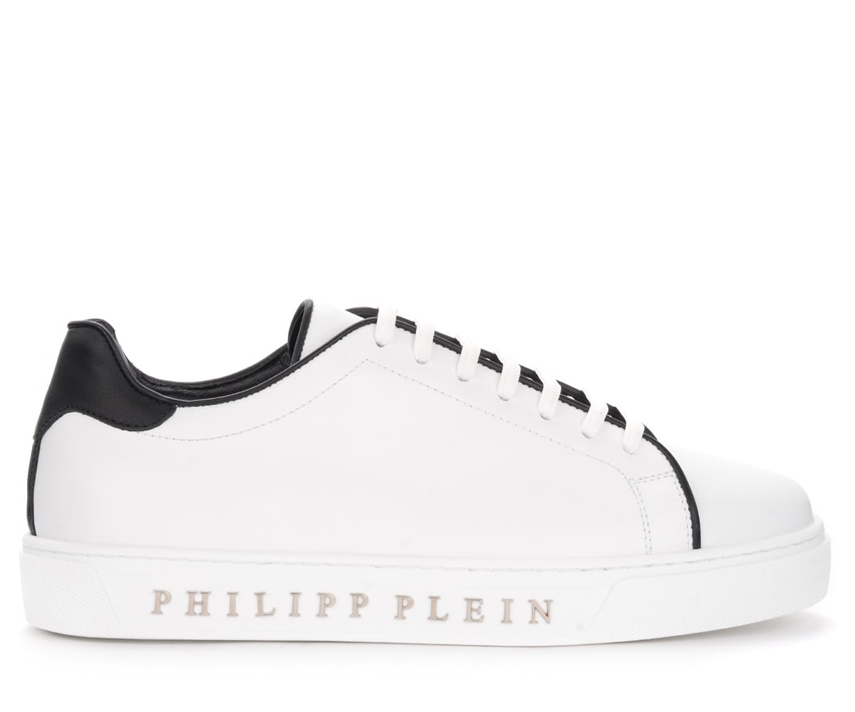 Philipp Plein Low tops SNEAKER PHILIPP PLEIN IN NAPPA BIANCA
