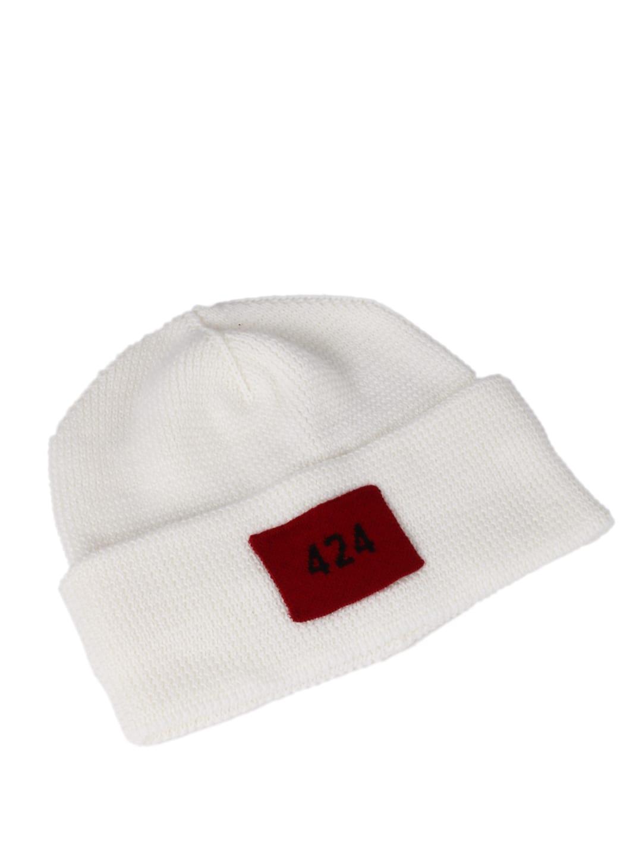 White Logo Cap