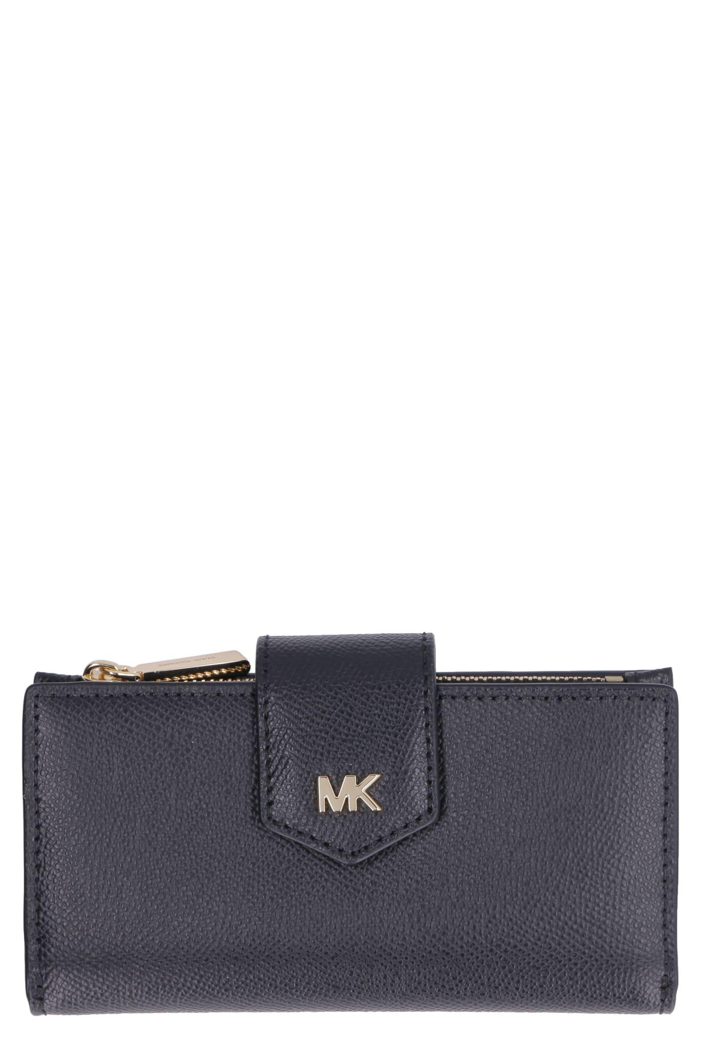 MICHAEL Michael Kors Money Pieces Leather Wallet