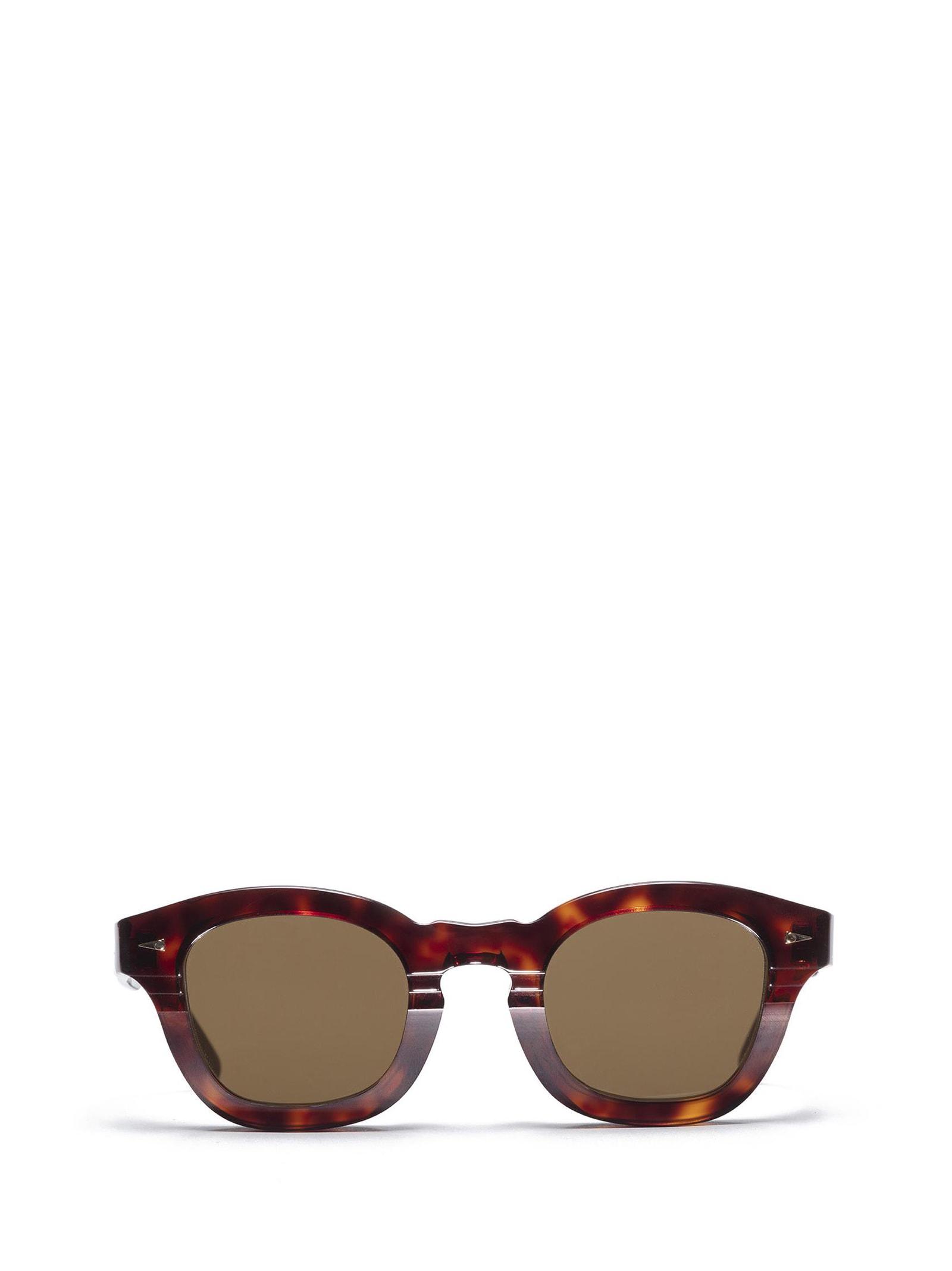 AHLEM Ahlem Le Marais Light Turtle Sunglasses