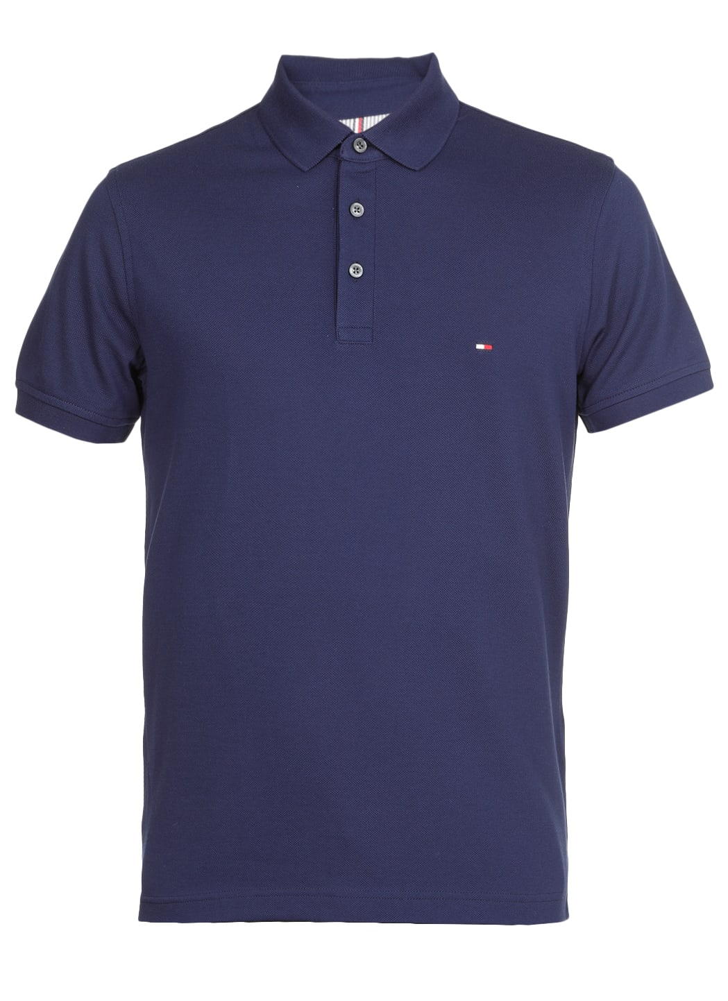 Tommy Hilfiger Polo With Logo In Yale Navy
