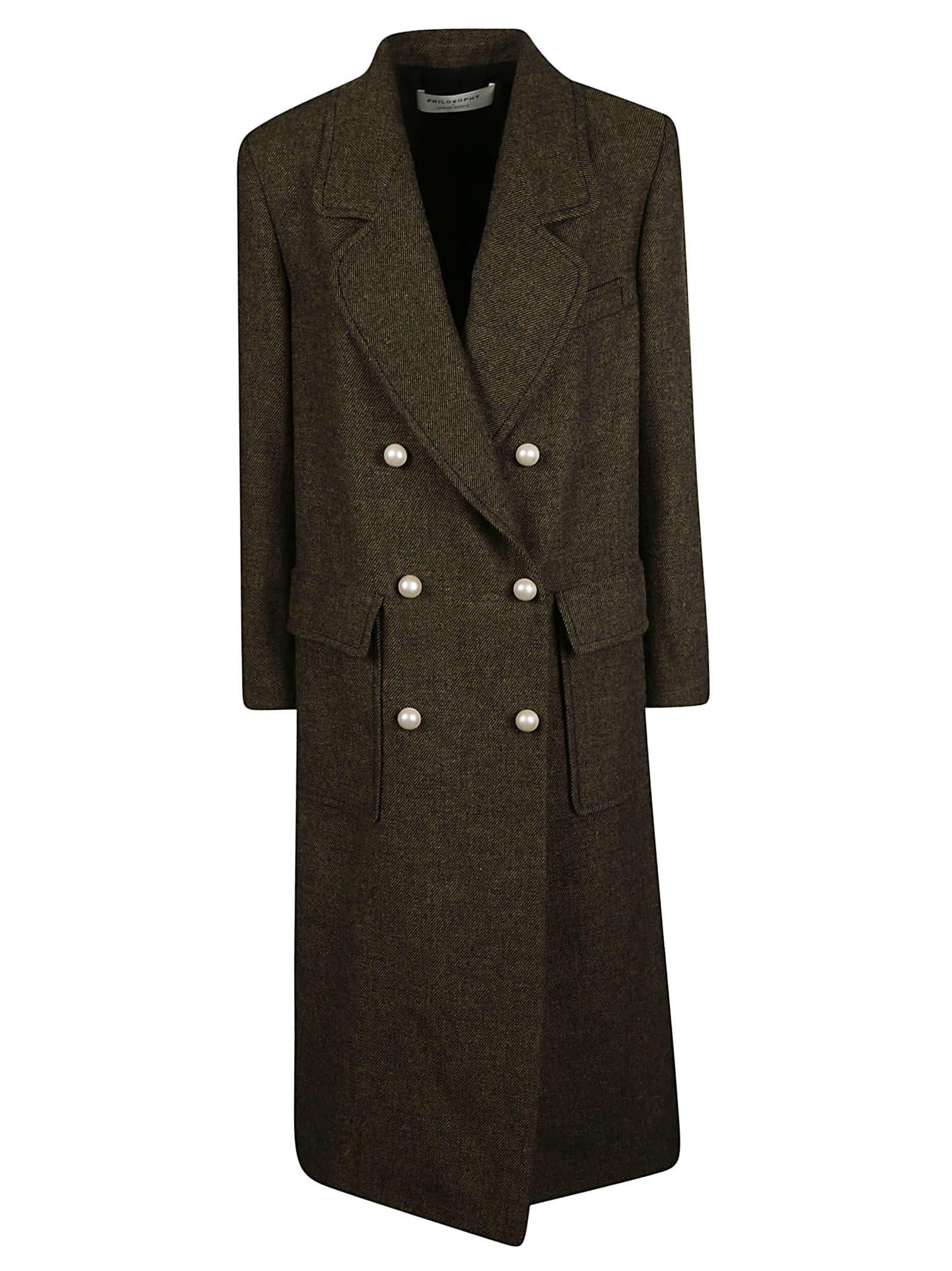 Philosophy di Lorenzo Serafini Double Breasted Coat