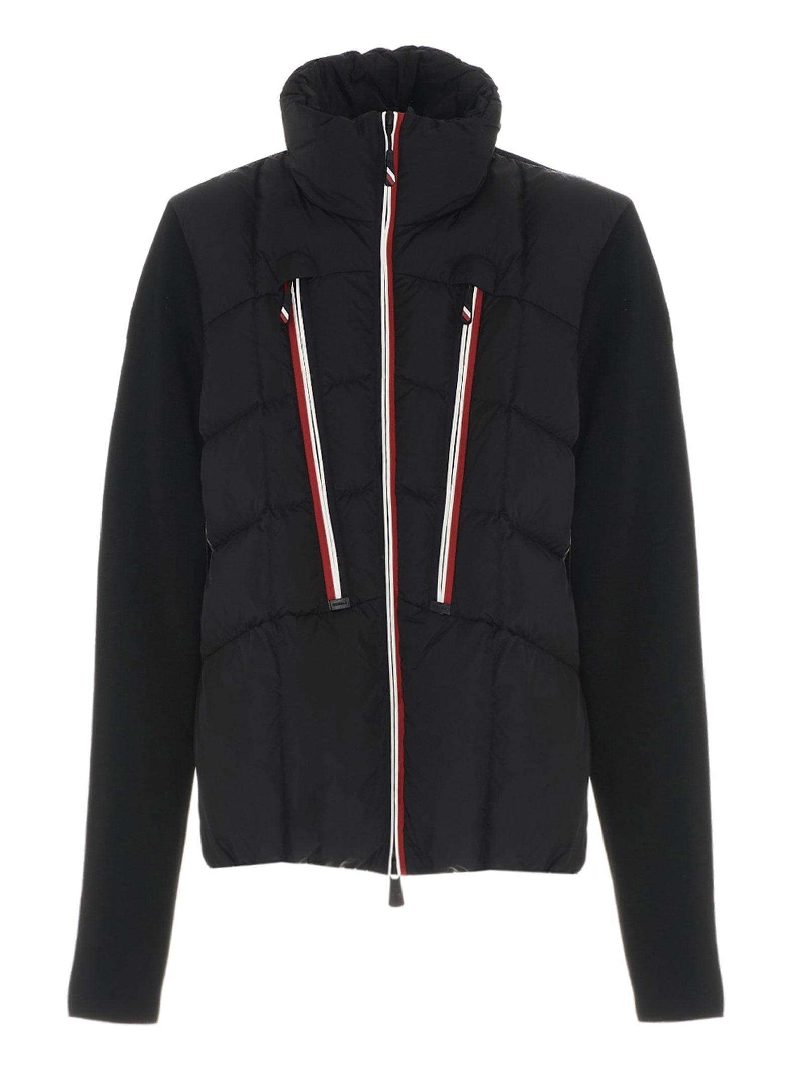 Moncler Grenoble Cardigan In Black