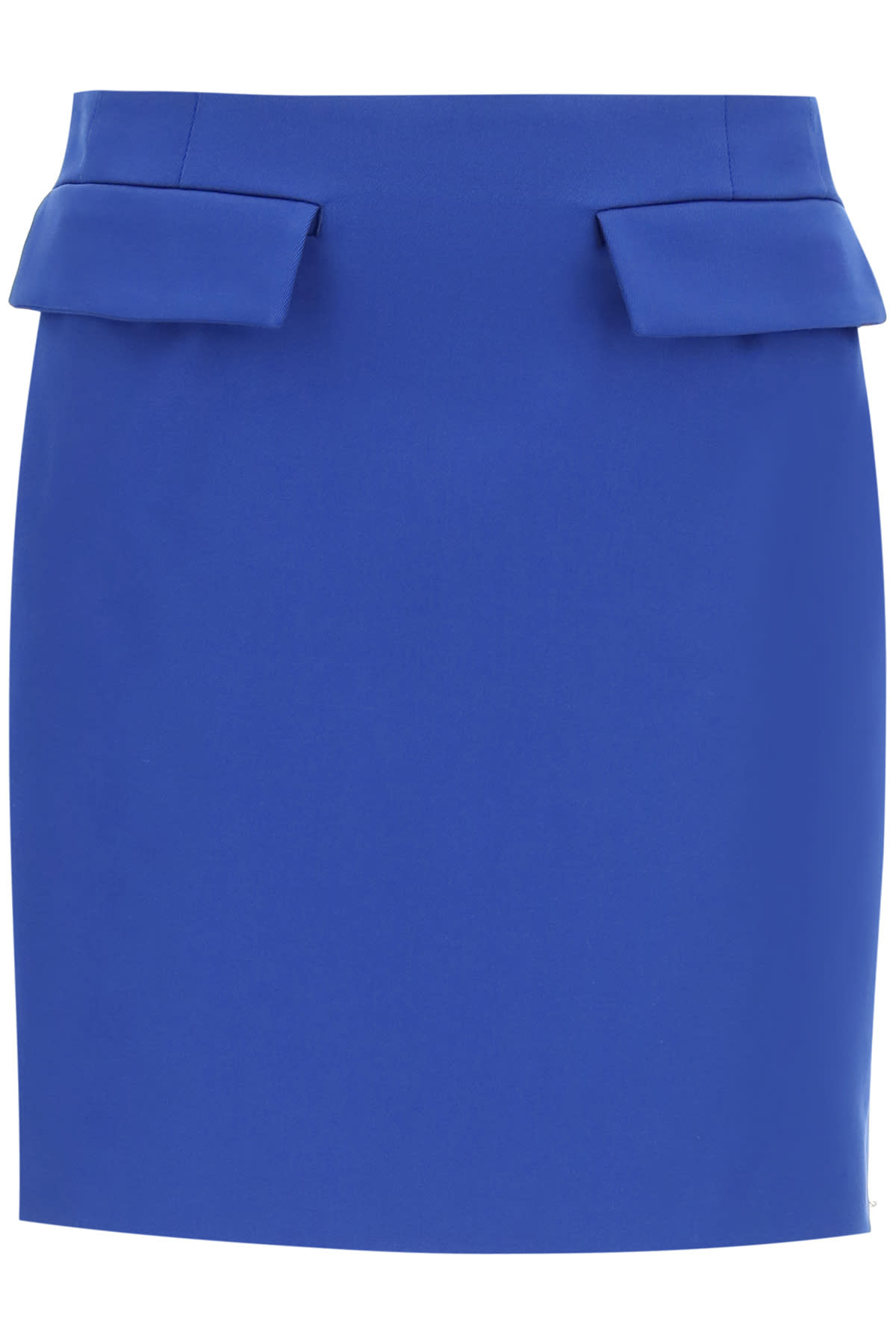 Sportmax COTTON GABARDINE MINI SKIRT