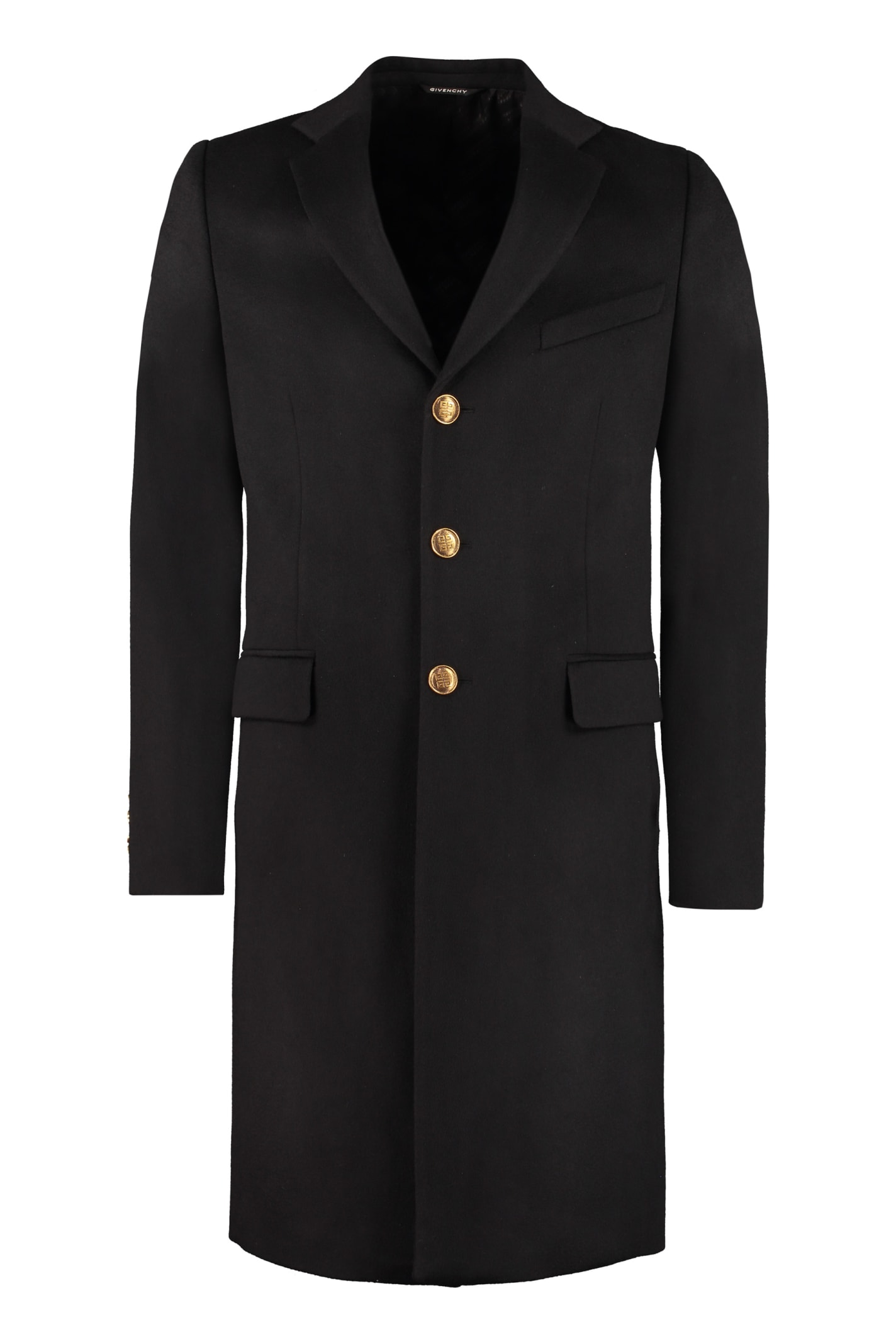 Givenchy Wool And Cashmere Coat