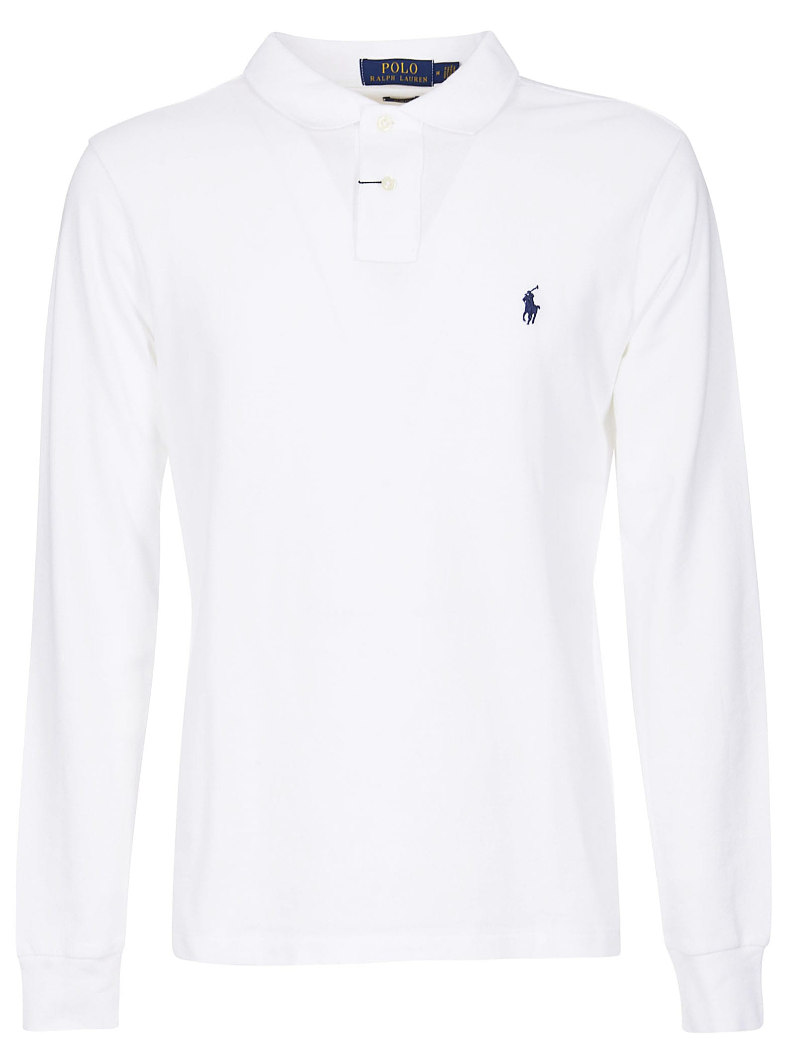Ralph Lauren Embroidered Long Sleeve Polo Shirt