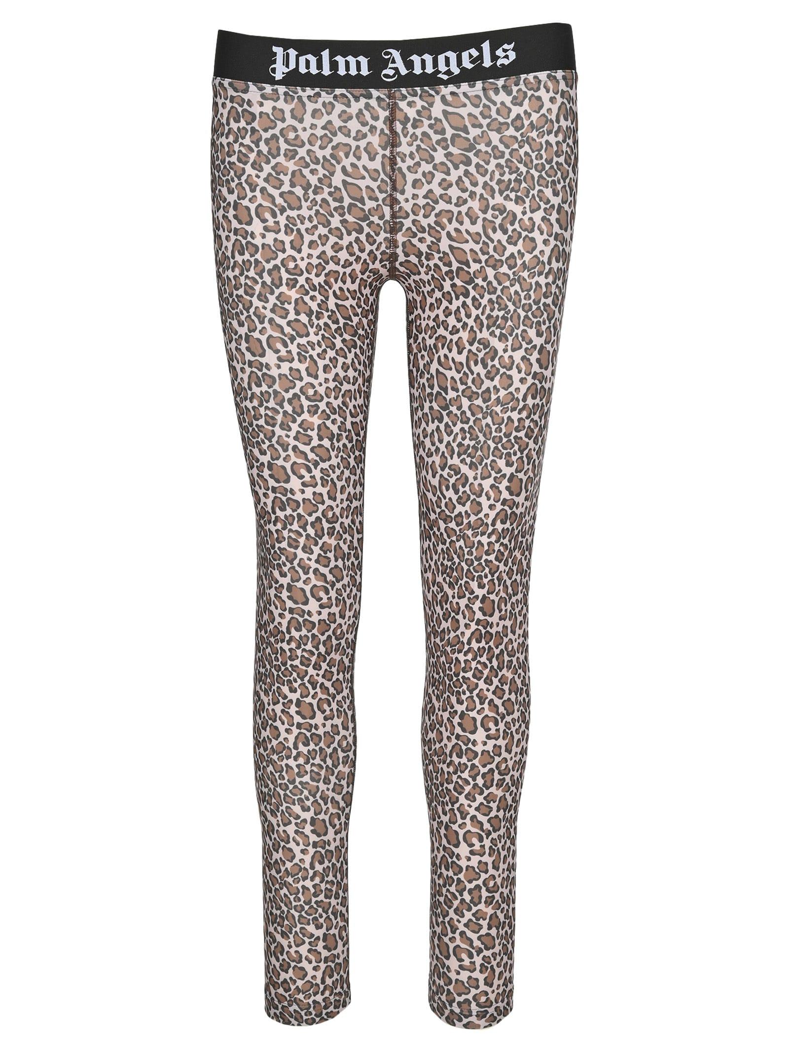 Palm Angels Leopard Leggings