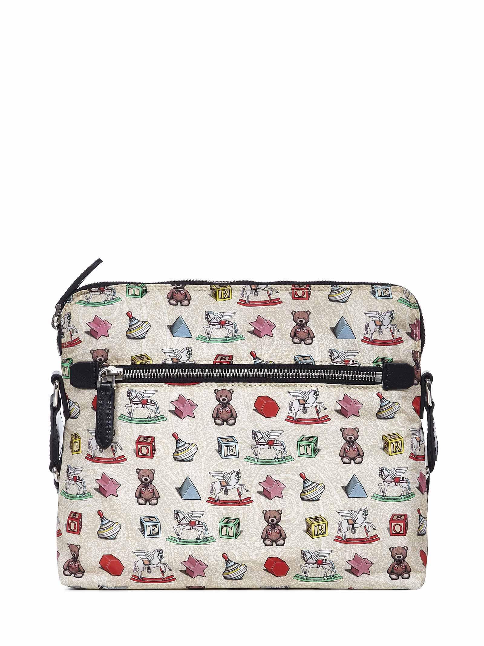 Etro Toys Shoulder Bag In Multicolor