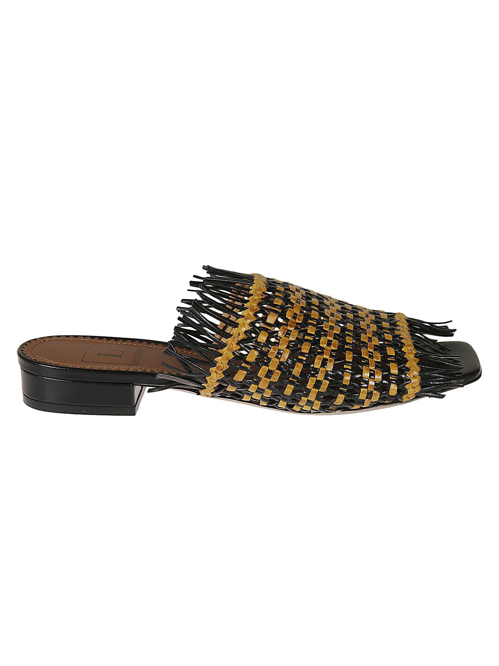 LAutre Chose Bicolor Twin Sandals