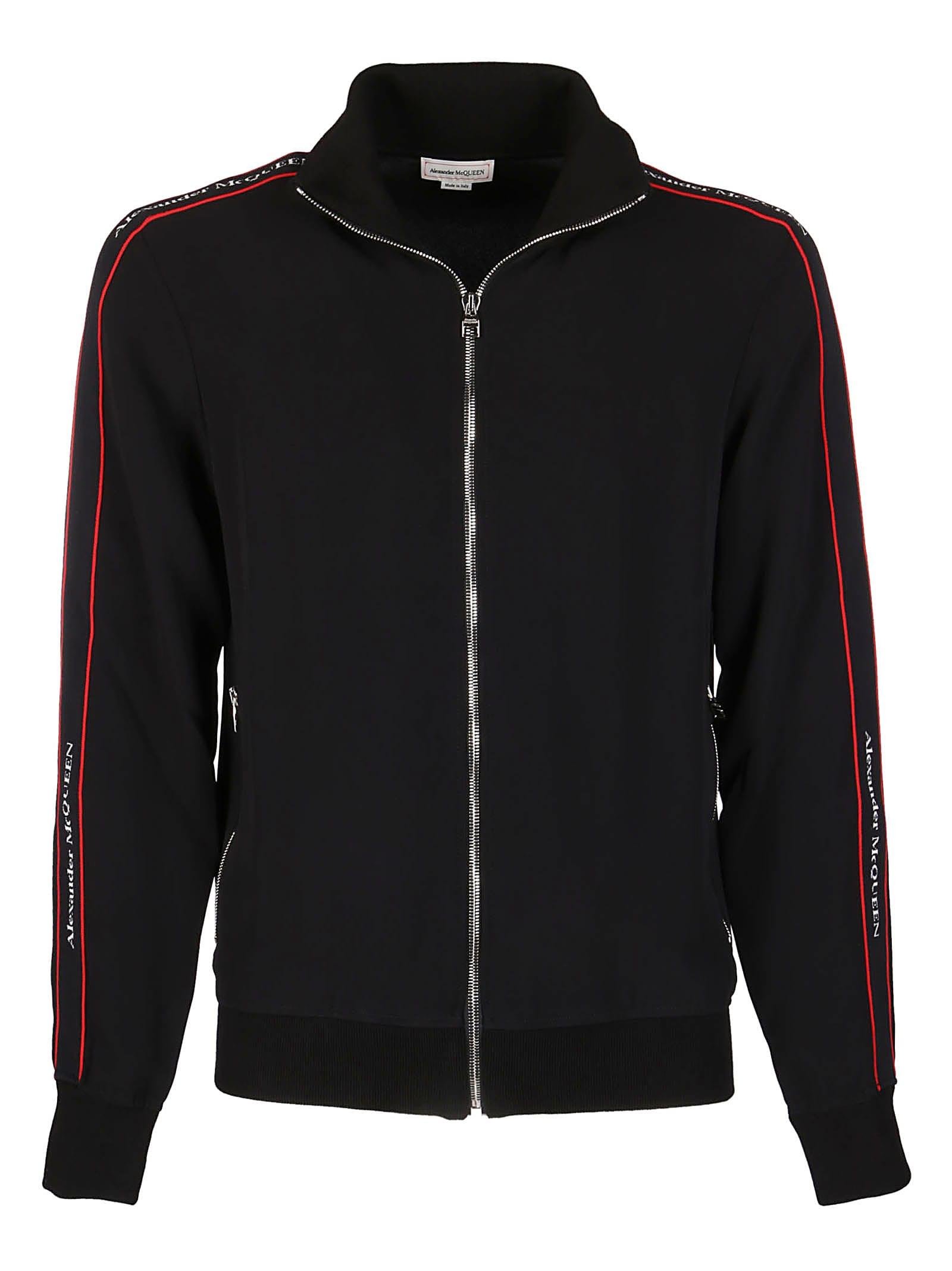 Alexander McQueen Black Viscose Sweatshirt