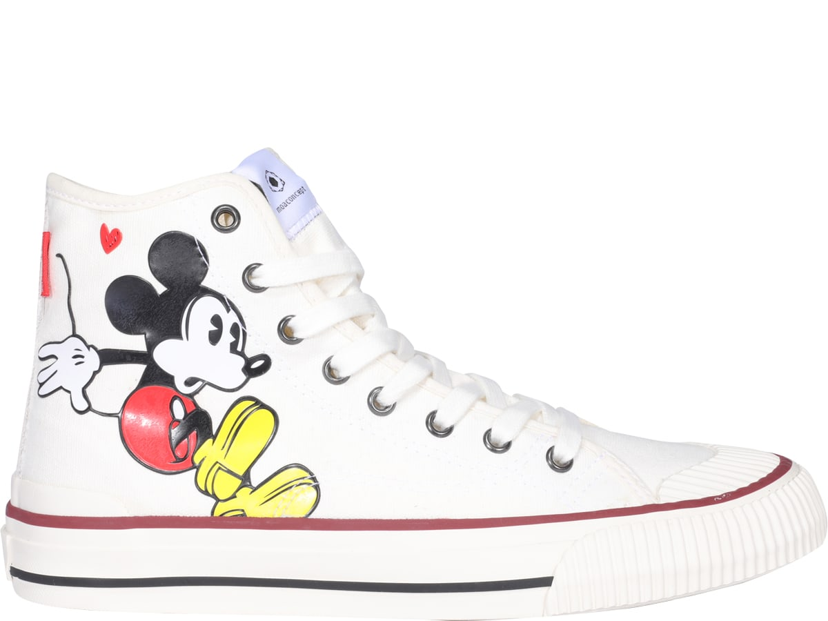 M.O.A. master of arts Mickey High Top Sneakers
