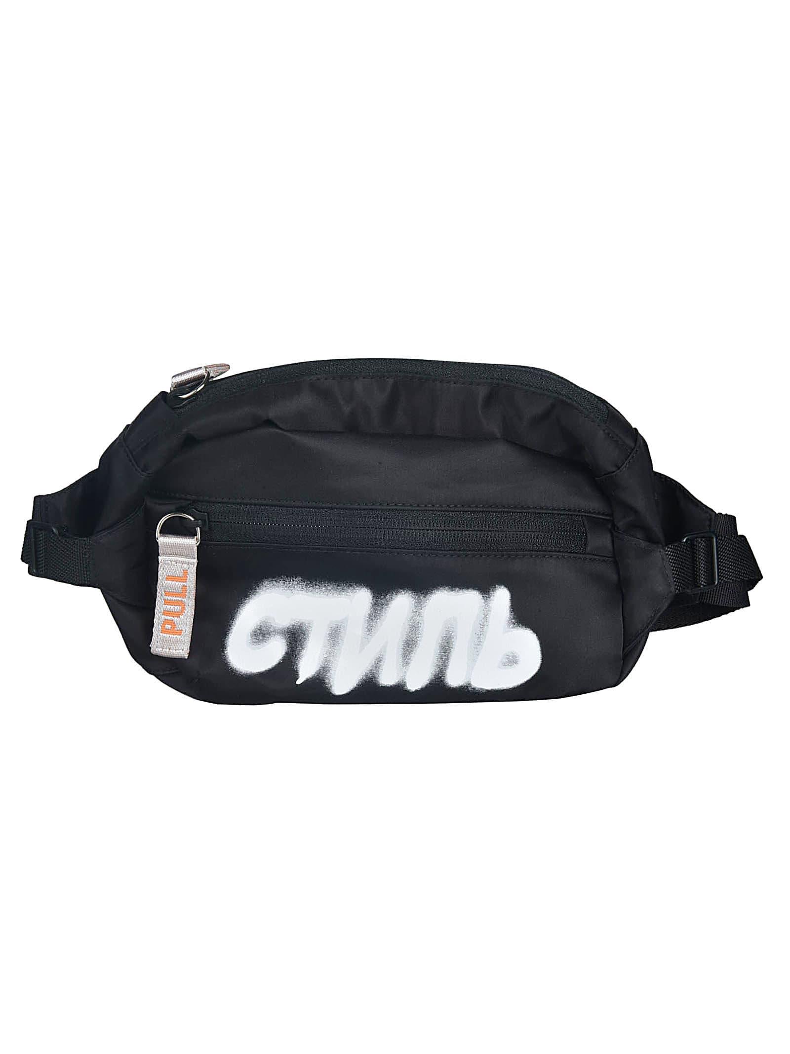 HERON PRESTON Spray Logo Belt Bag