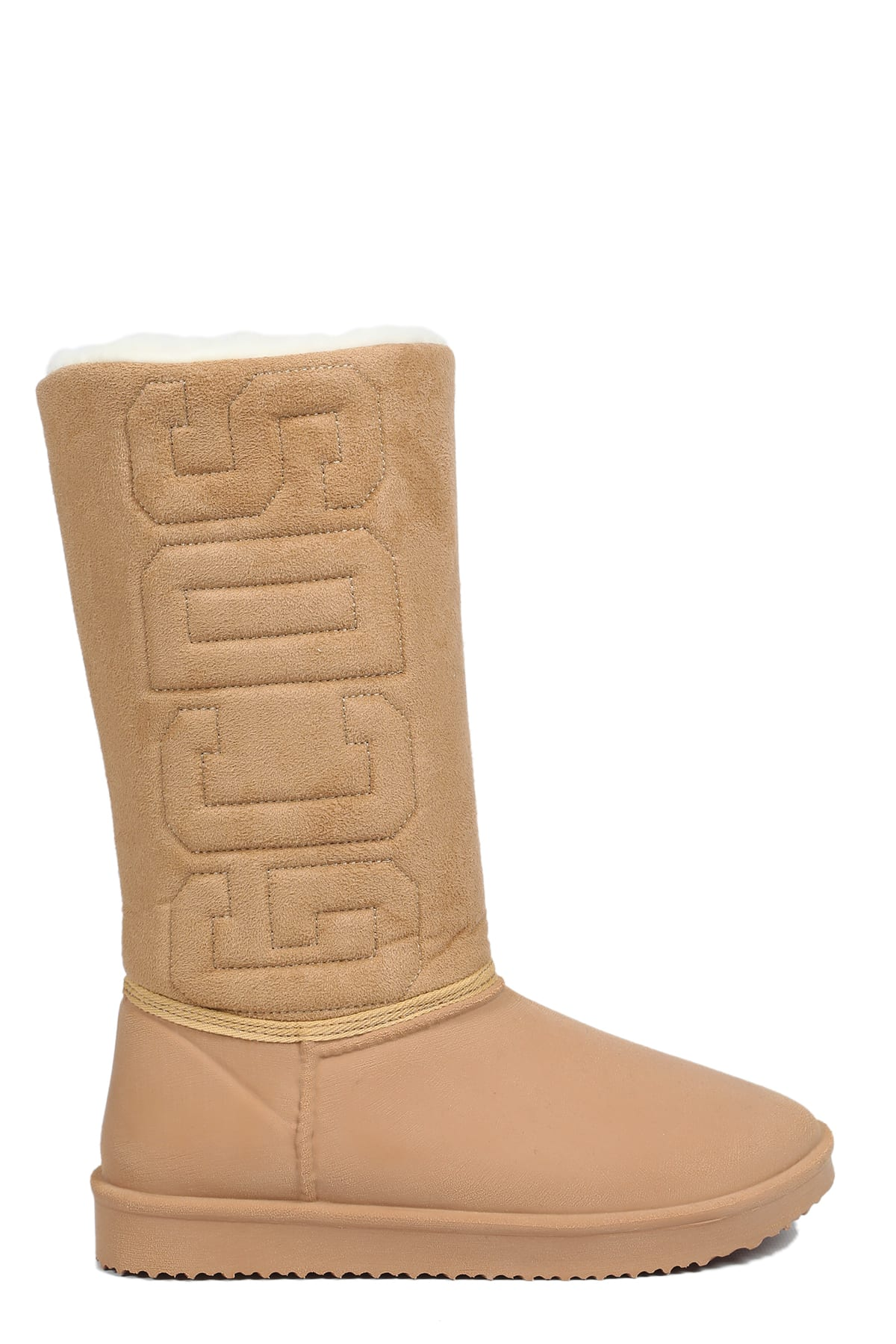 Gcds Suedes WINTER SHEARLING BOOT