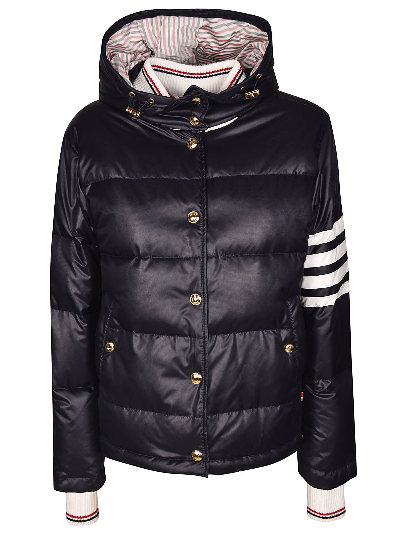 Thom Browne Snap Front Down Jacket