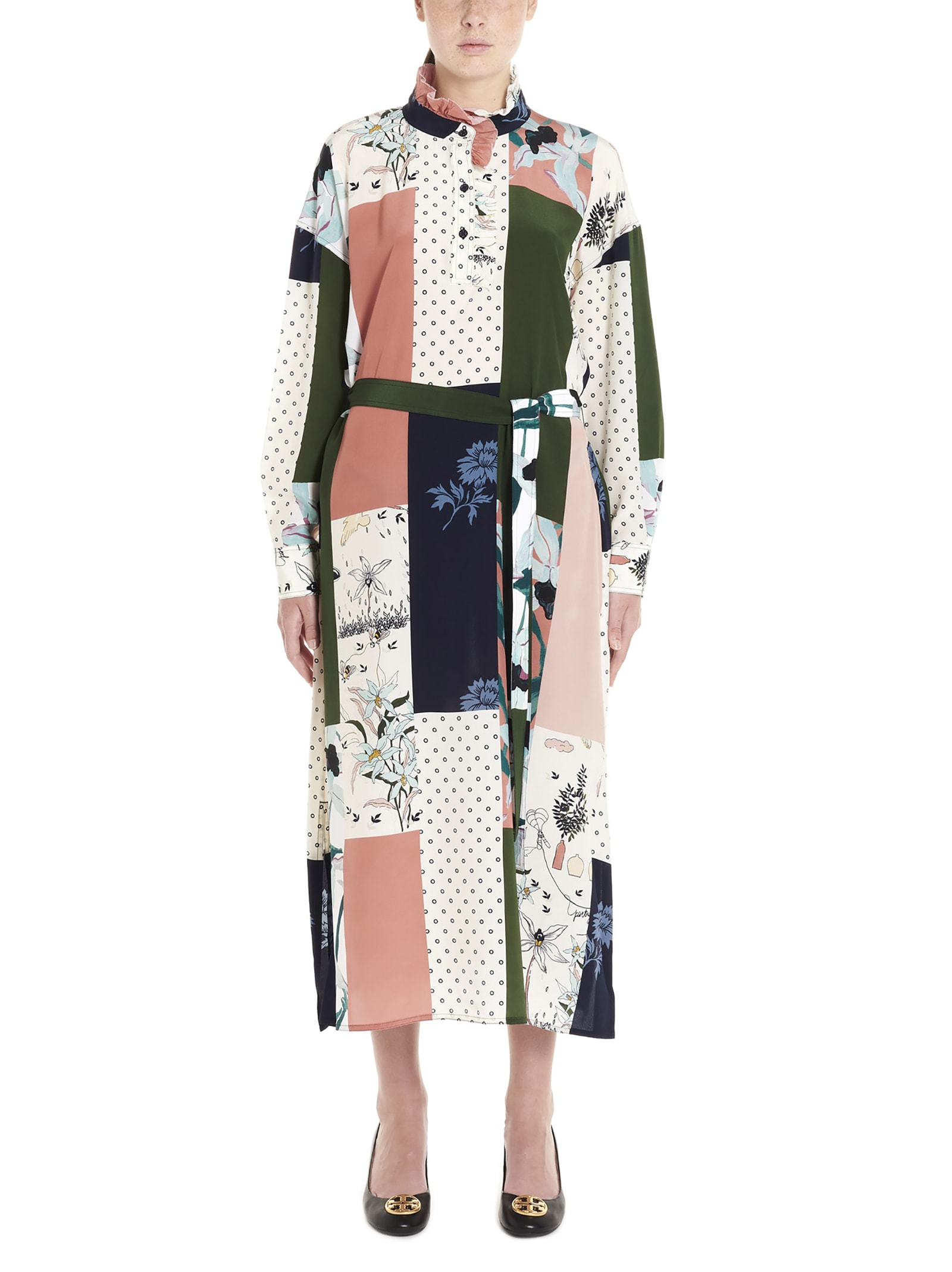 Tory Burch poetry Of Things Dress