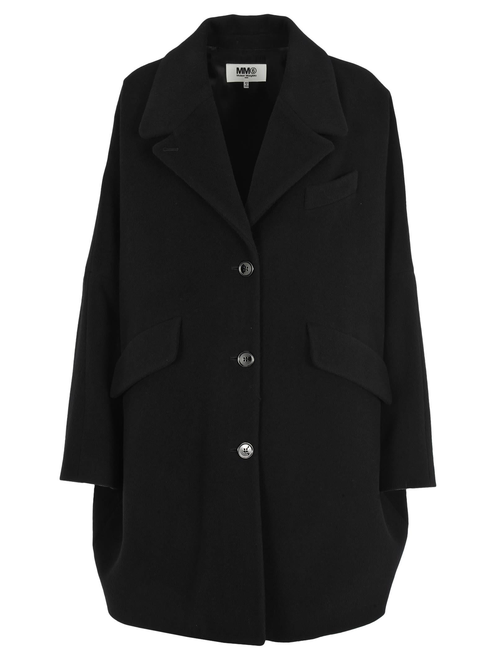 Photo of  Mm6 Oversize Coat- shop MM6 Maison Margiela jackets online sales