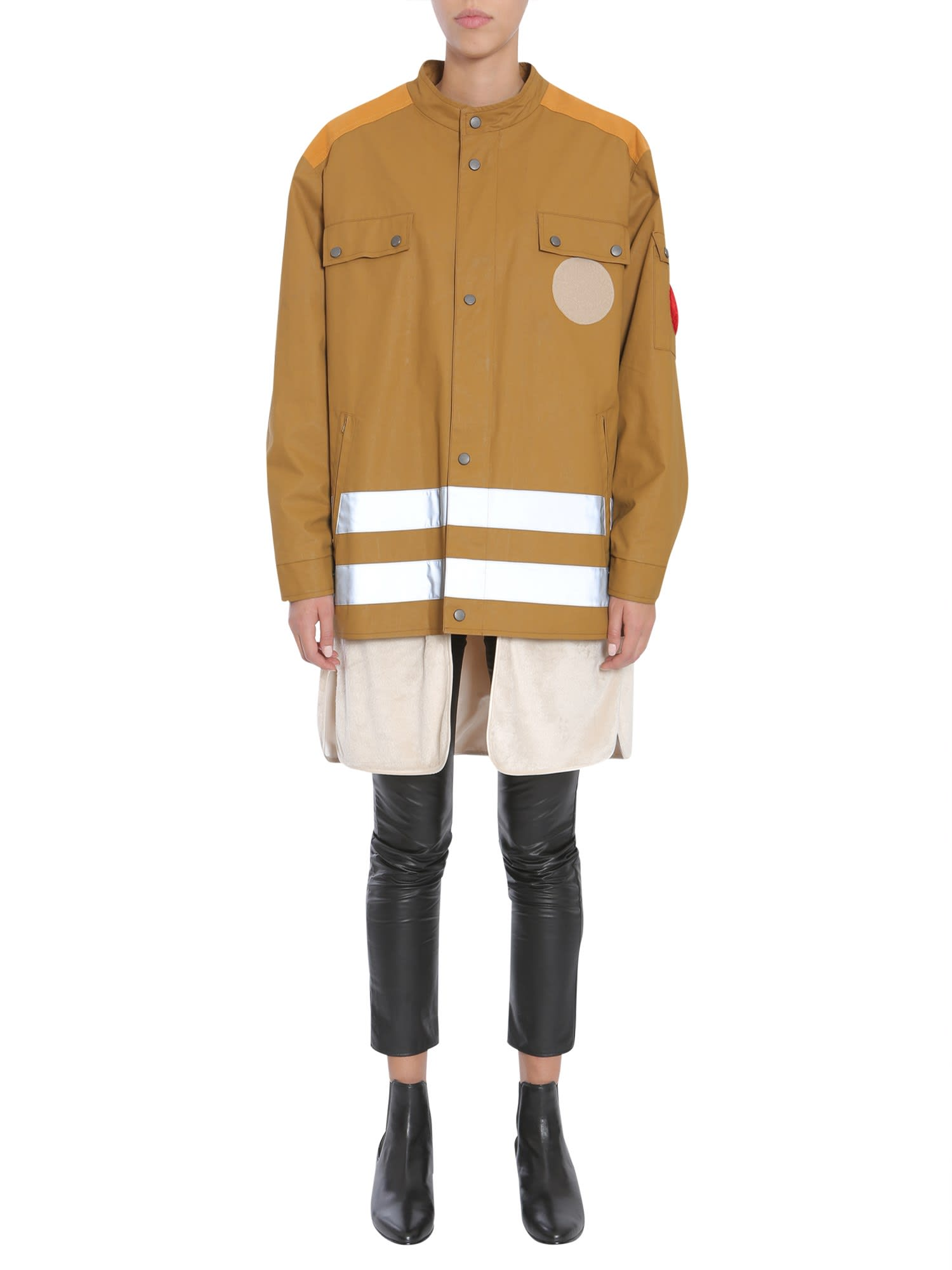 Maison Margiela Parka With Reflective Bands