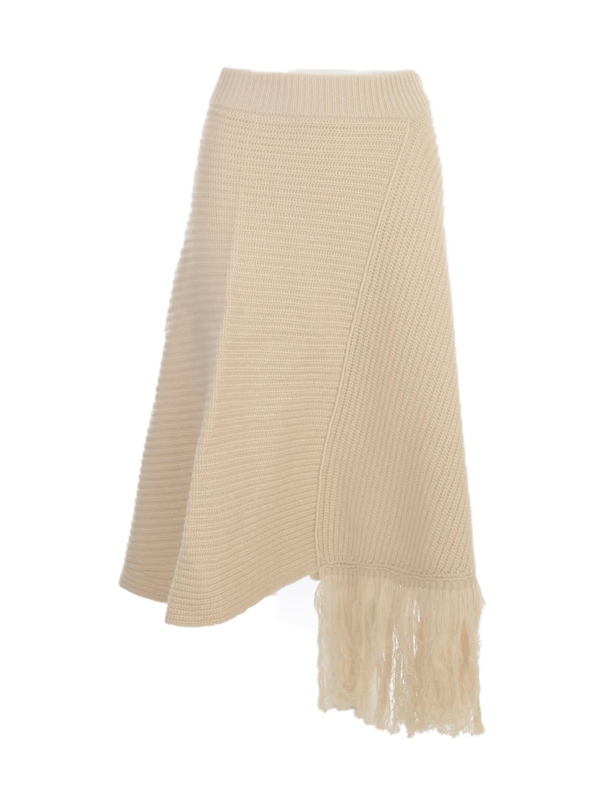 Skirt W/ Fringes