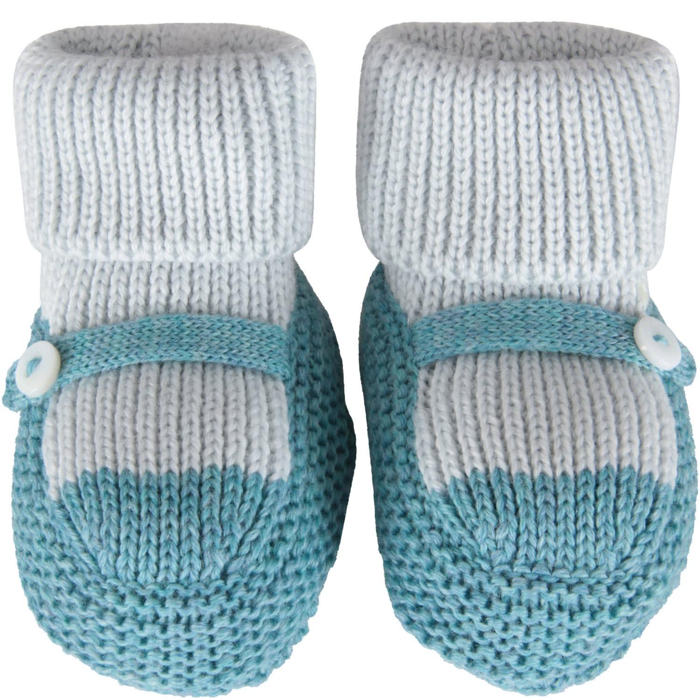 Multicolor Bootee For Baby Boy