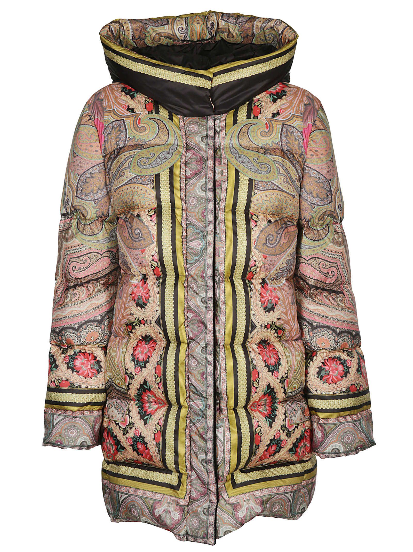 Photo of  Etro Hooded Padded Jacket- shop Etro jackets online sales