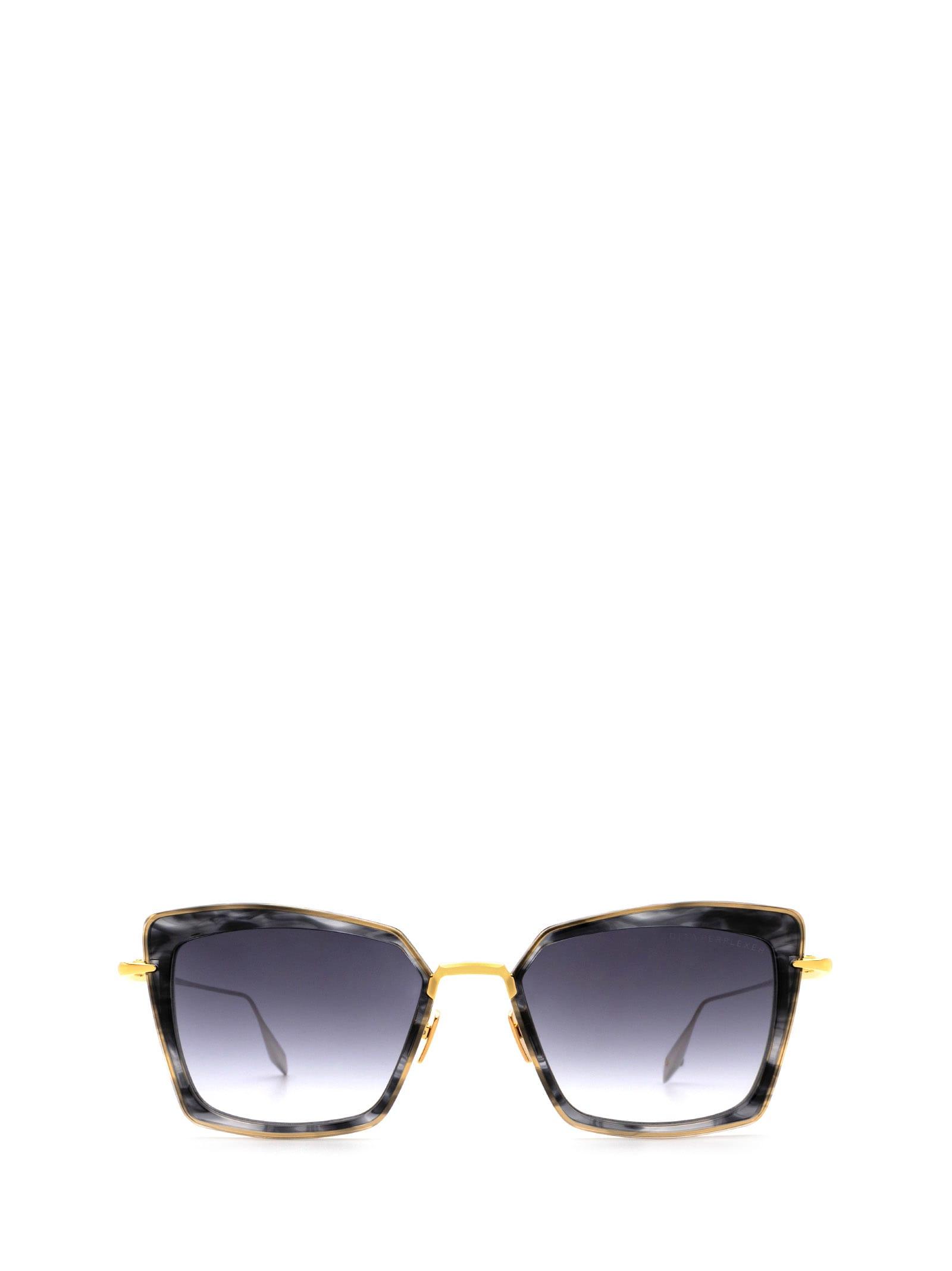 Dita Dita Dts405-a-01 Black Gold Sunglasses