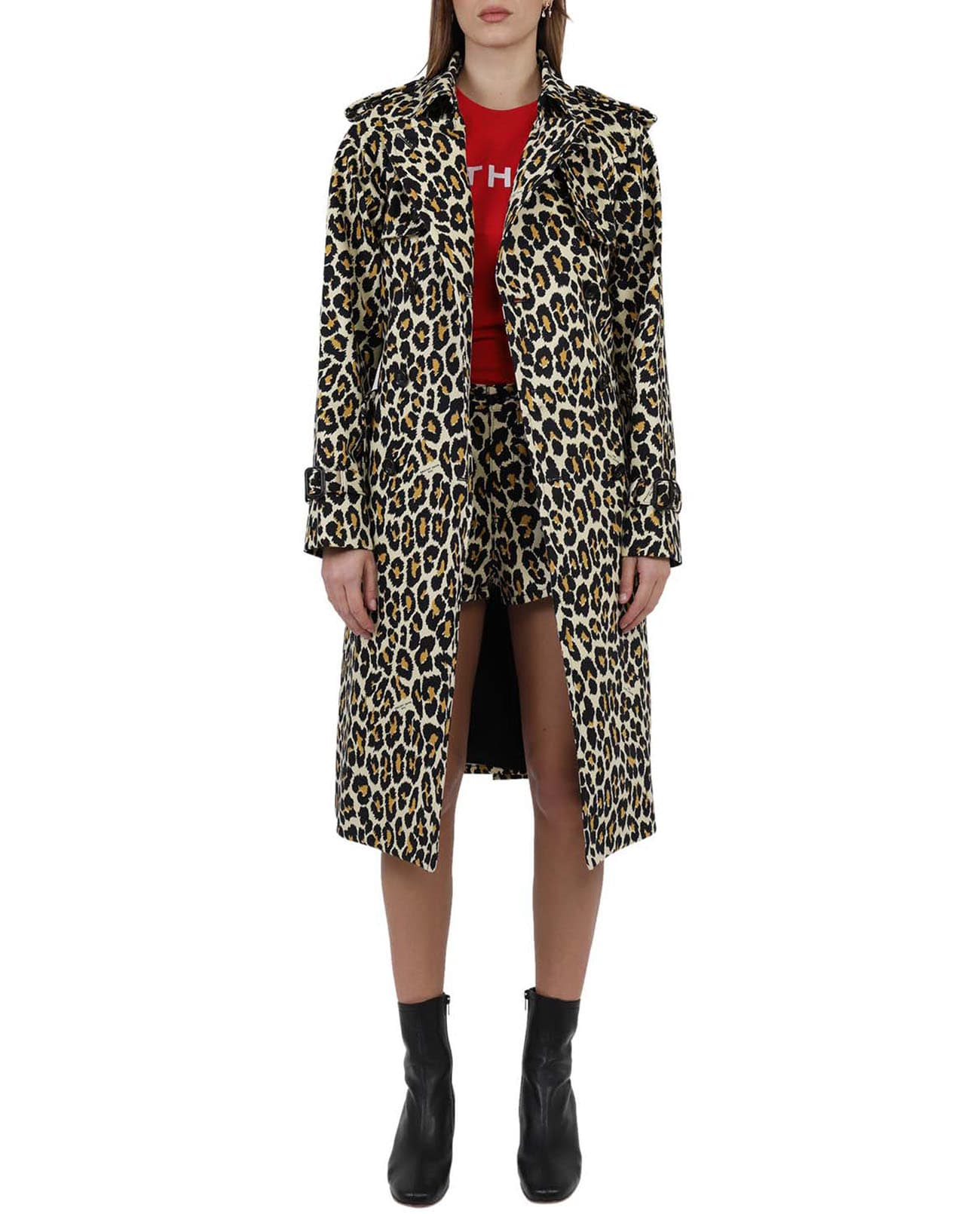 Marc Jacobs THE MARC JACOBS LEOPARD TRENCH