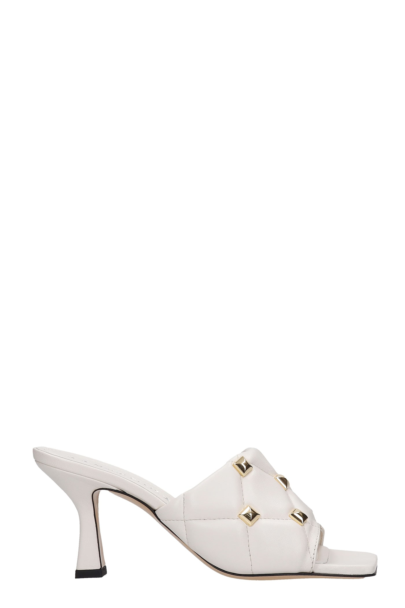 Alina Sandals In Beige Leather