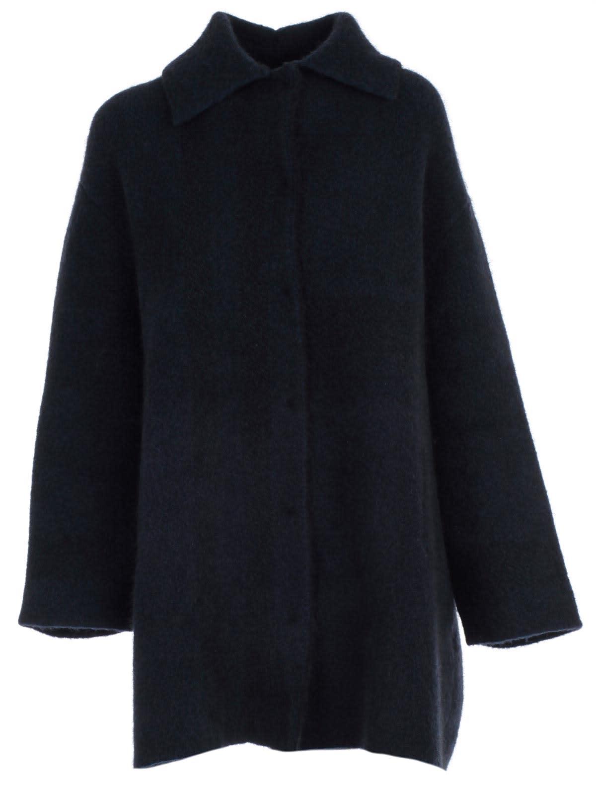 Boboutic Coat Over Shirt Collar