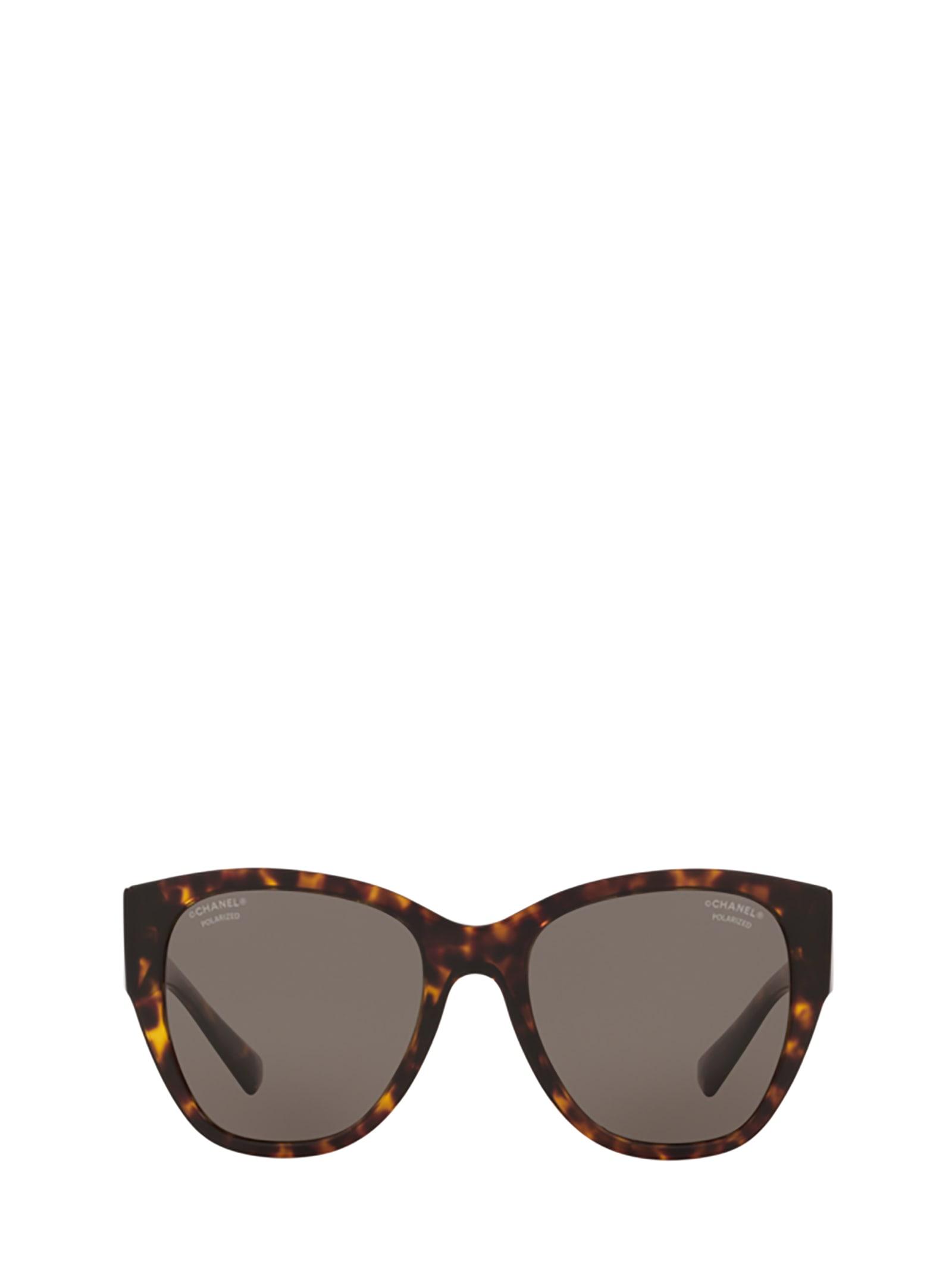 Chanel Chanel Ch5412 Dark Havana Sunglasses