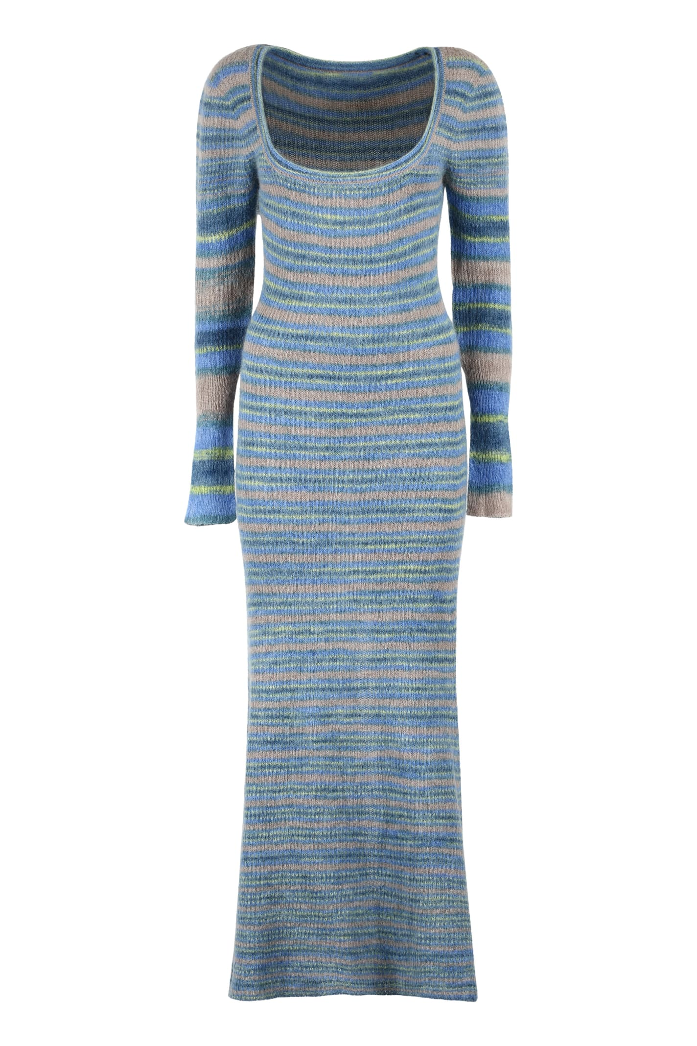 Buy Jacquemus Perou Knitted Maxi Dress online, shop Jacquemus with free shipping