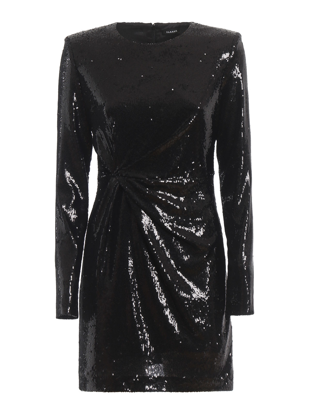 Parosh Paillettes Mini Dress