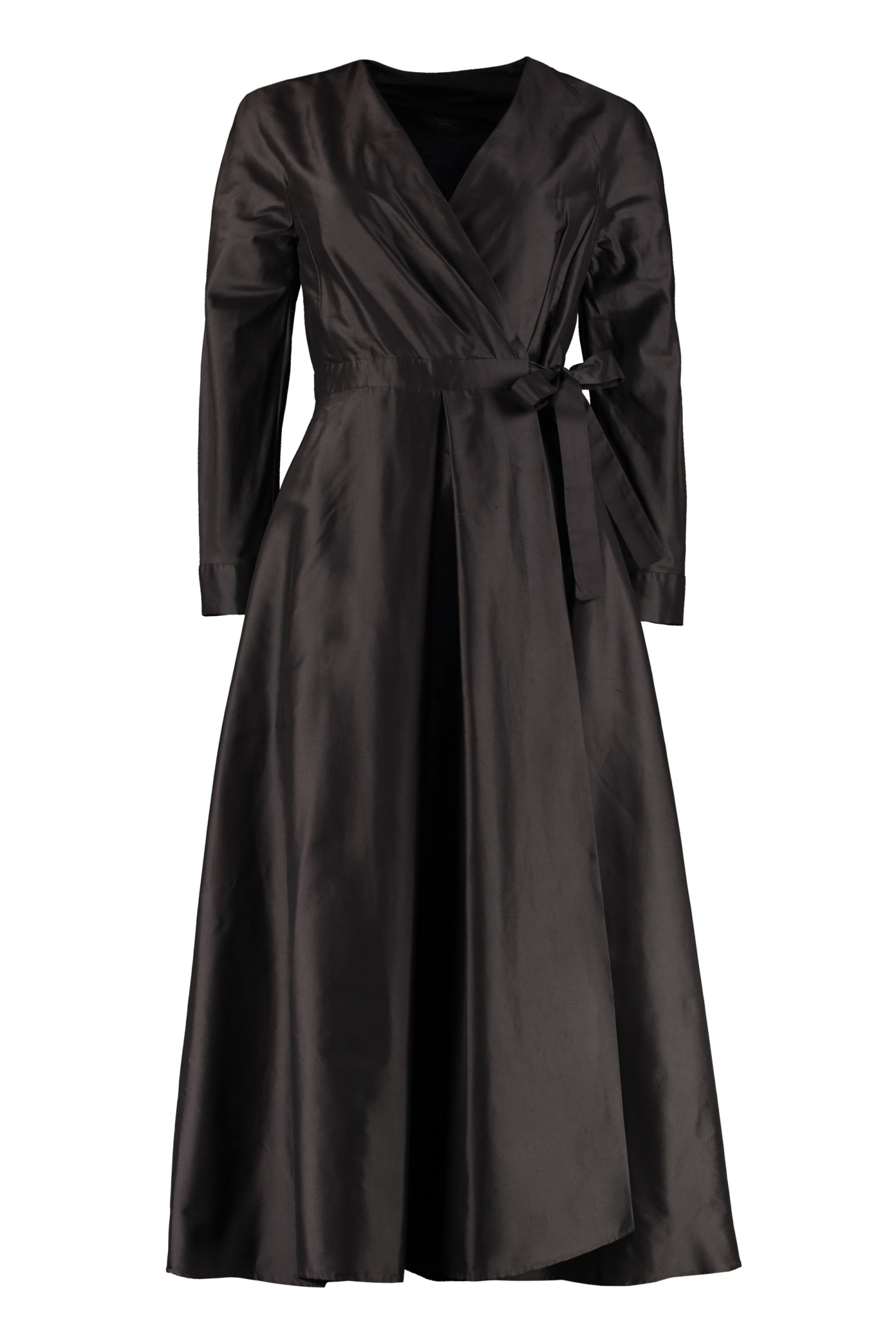 Buy Weekend Max Mara Silk Shantung Dress online, shop Weekend Max Mara with free shipping