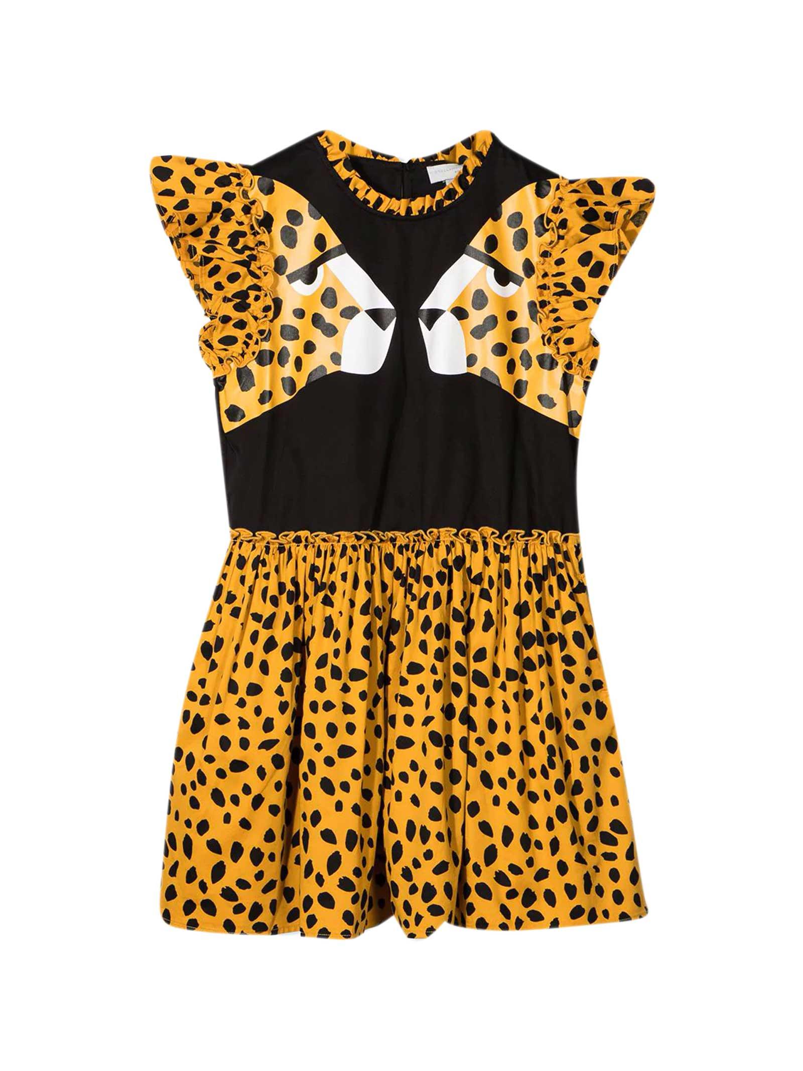 Buy Stella McCartney Kids Animal Print Dress online, shop Stella McCartney Kids with free shipping