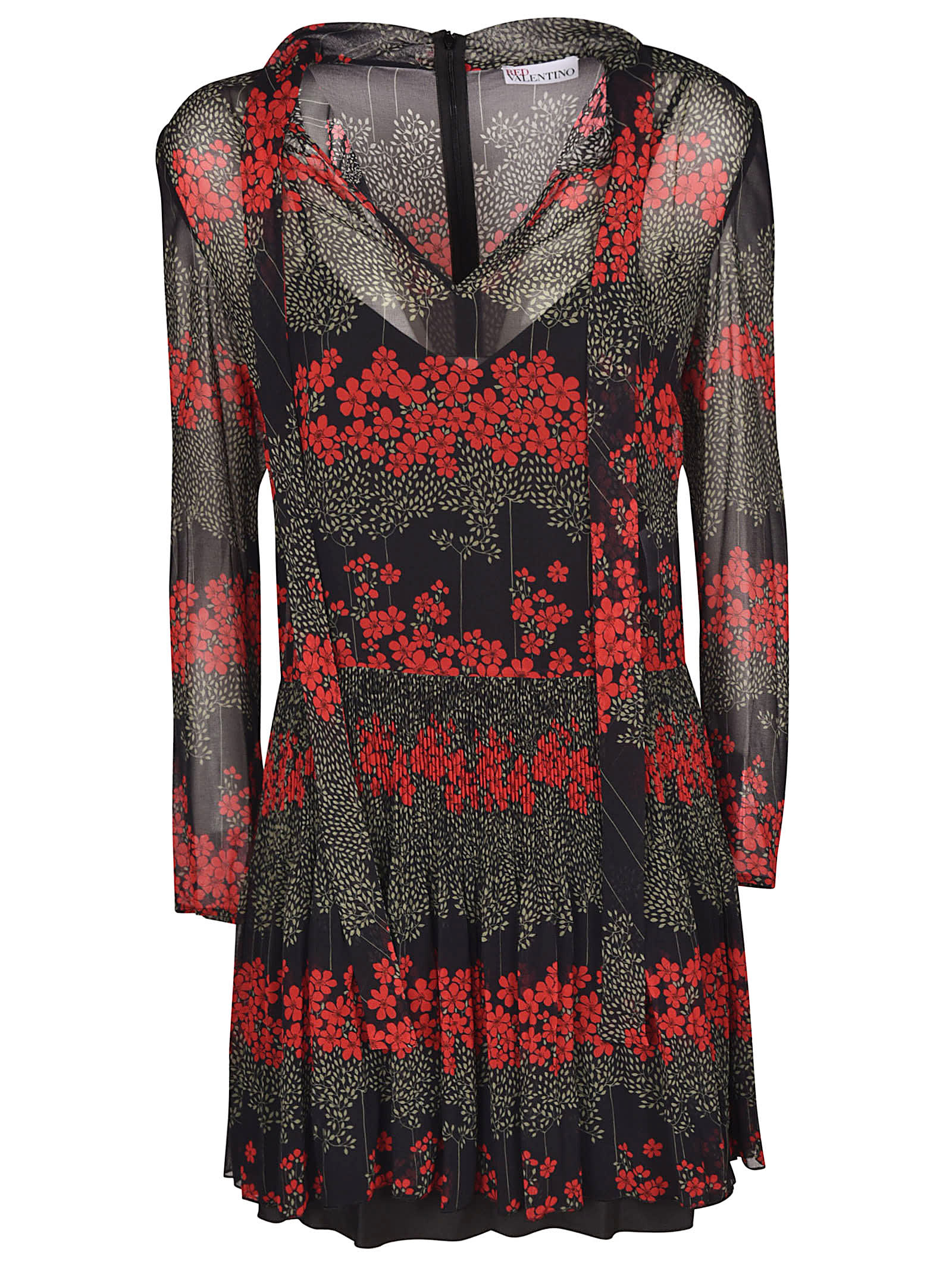 Buy RED Valentino Dreaming Peony Dress online, shop RED Valentino with free shipping