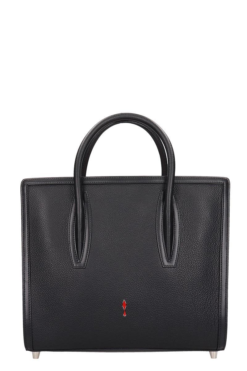 998adf31fc0 Christian Louboutin Paloma S Medium Shoulder Bag In Black Leather