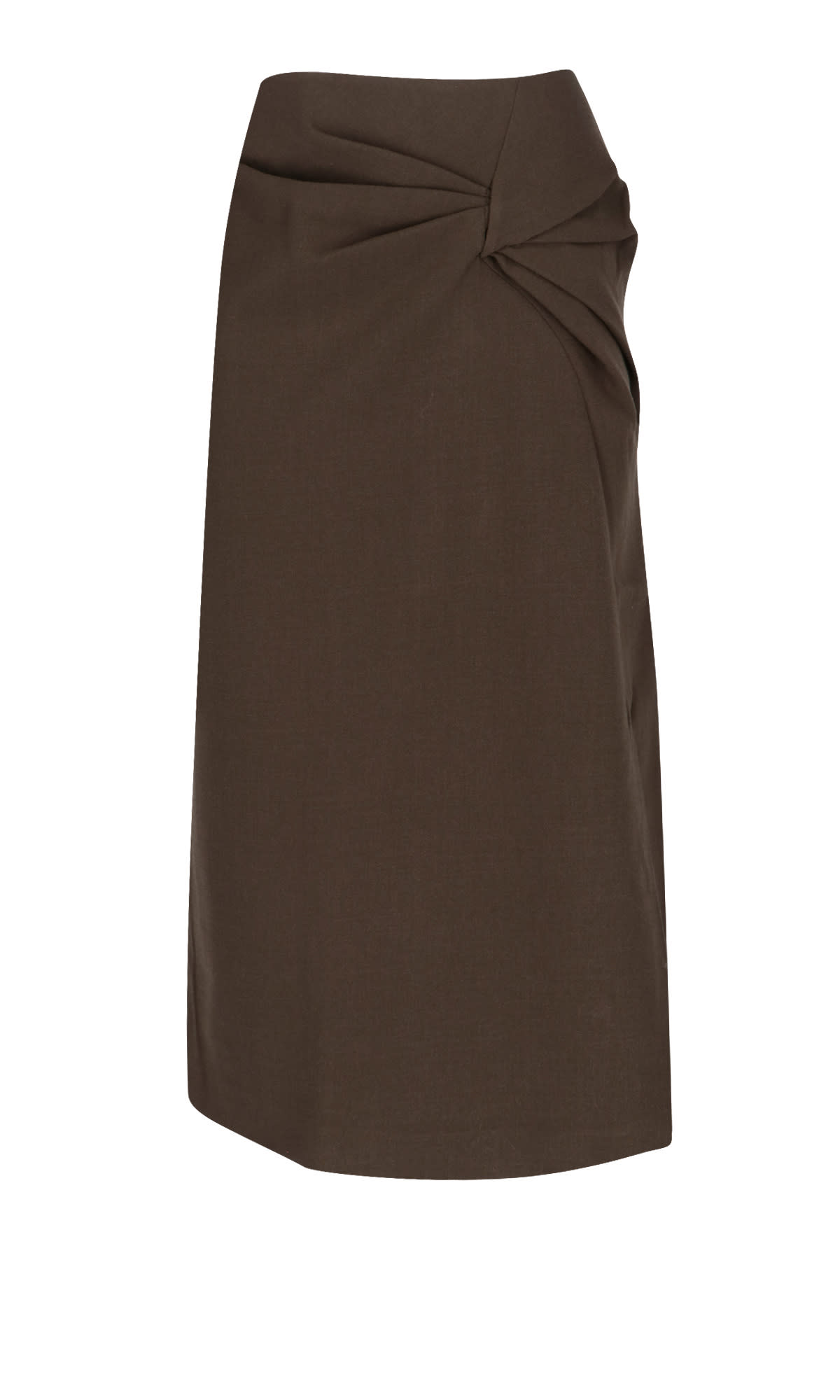 Rejina Pyo DRAPED DETAIL PENCIL SKIRT