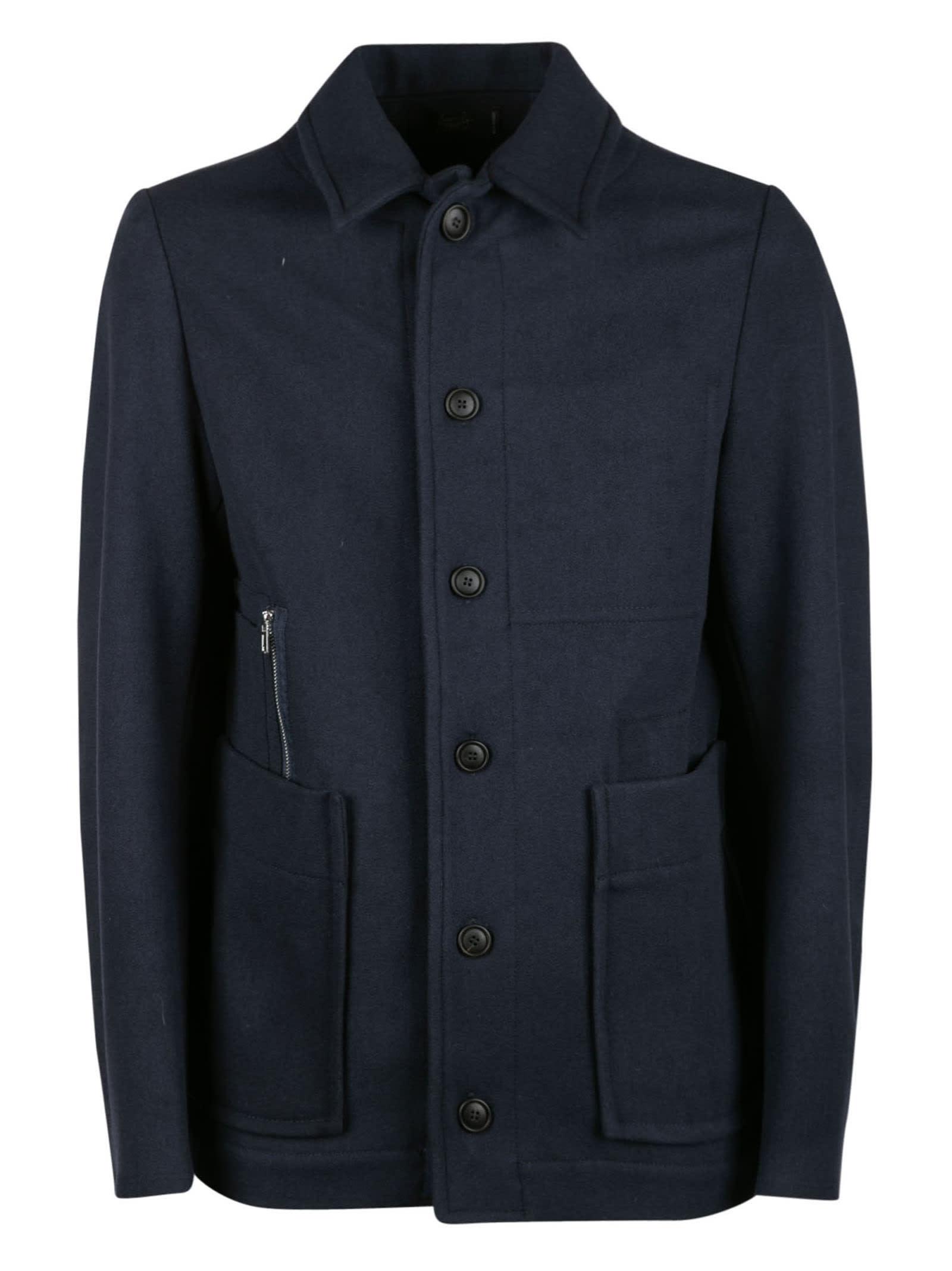Regular Buttoned Jacket