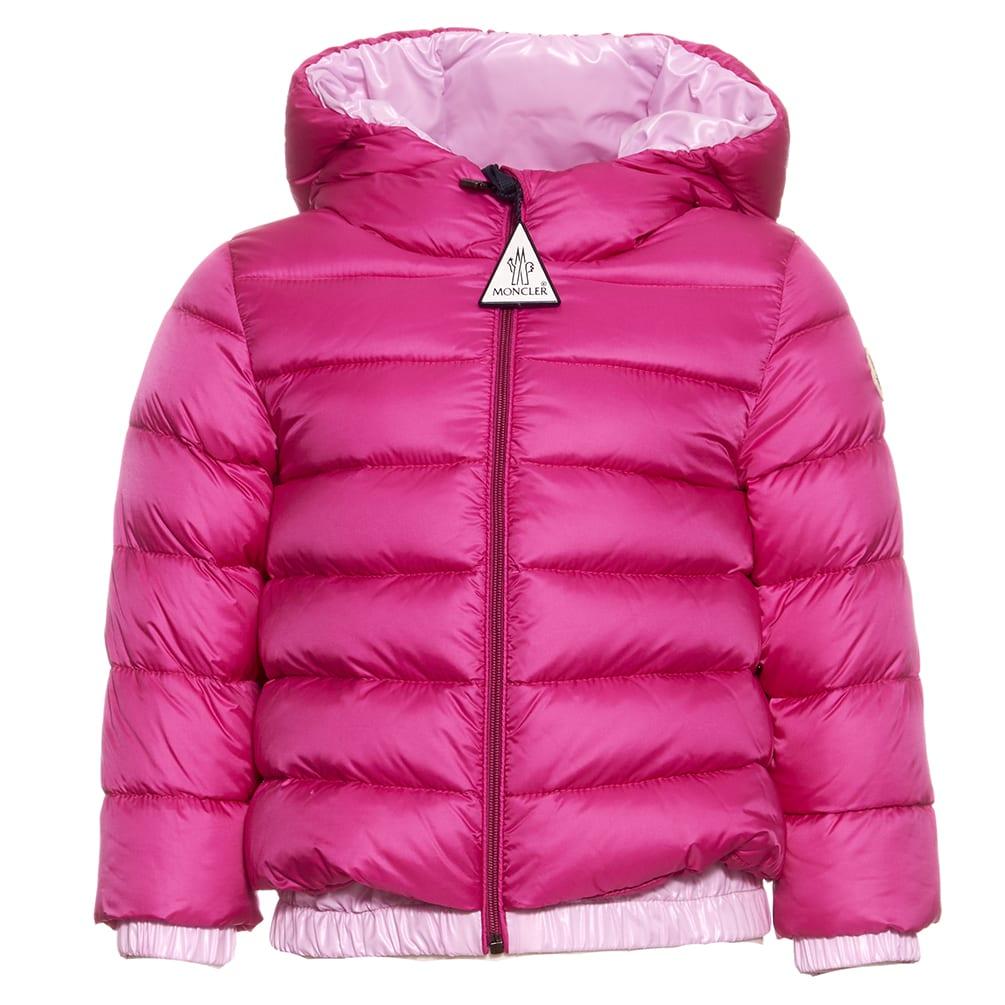 Moncler Babies' Mirmande Down Jacket In Pastel Pink