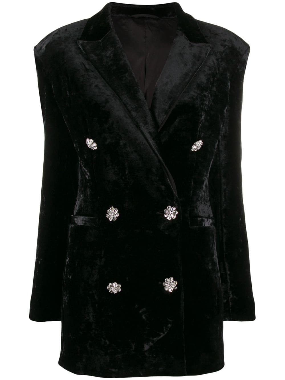 The Attico Velvet Dress