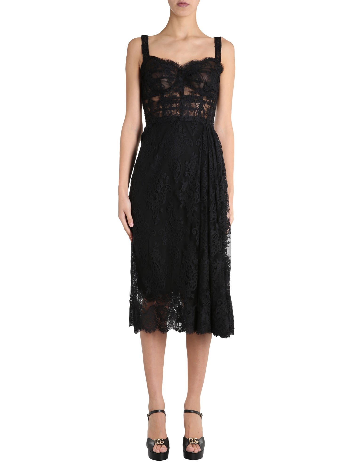 Buy Dolce & Gabbana Bustier Dress online, shop Dolce & Gabbana with free shipping