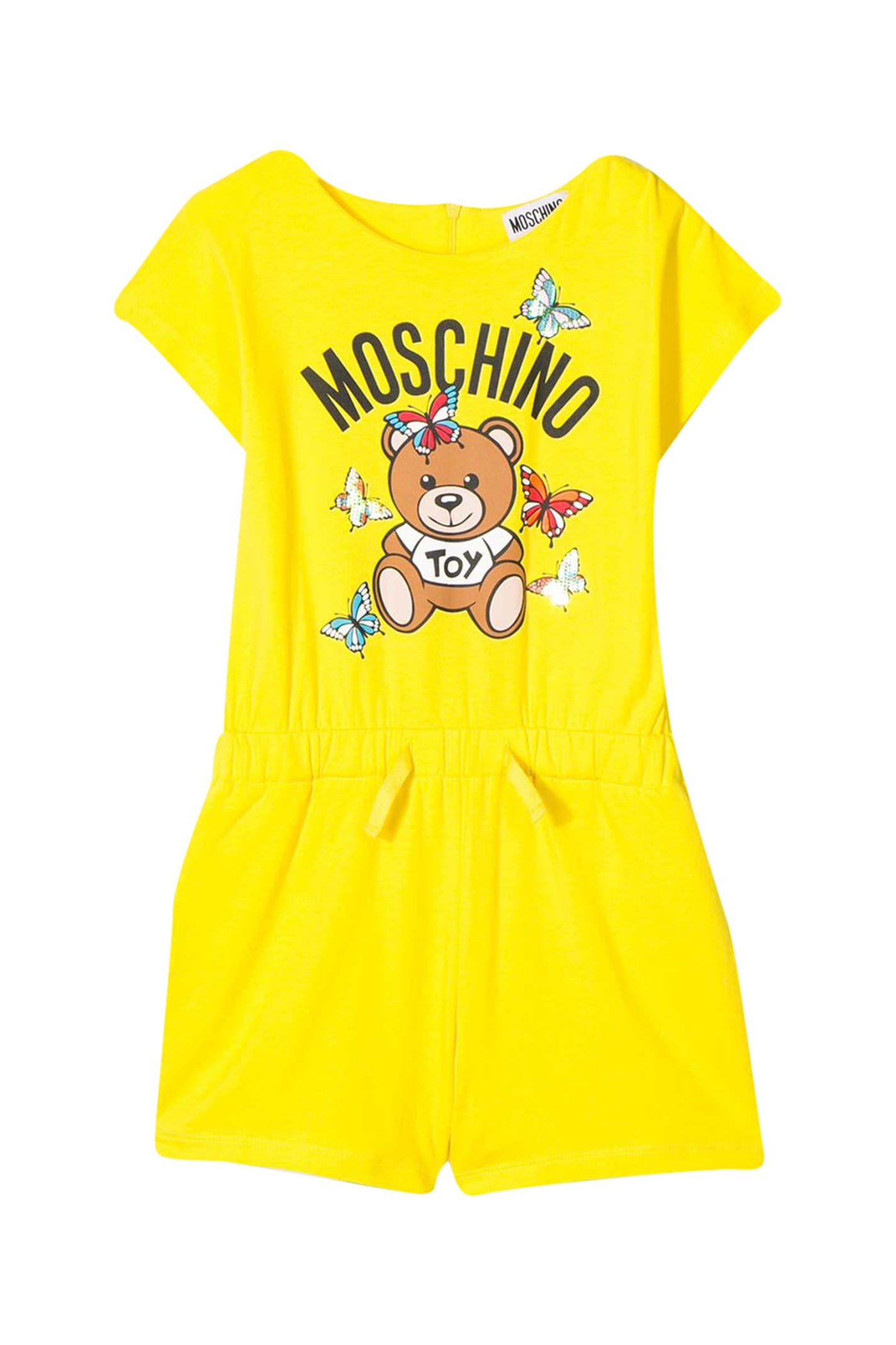 Buy Moschino Kids Toy Bear Print Dress online, shop Moschino with free shipping