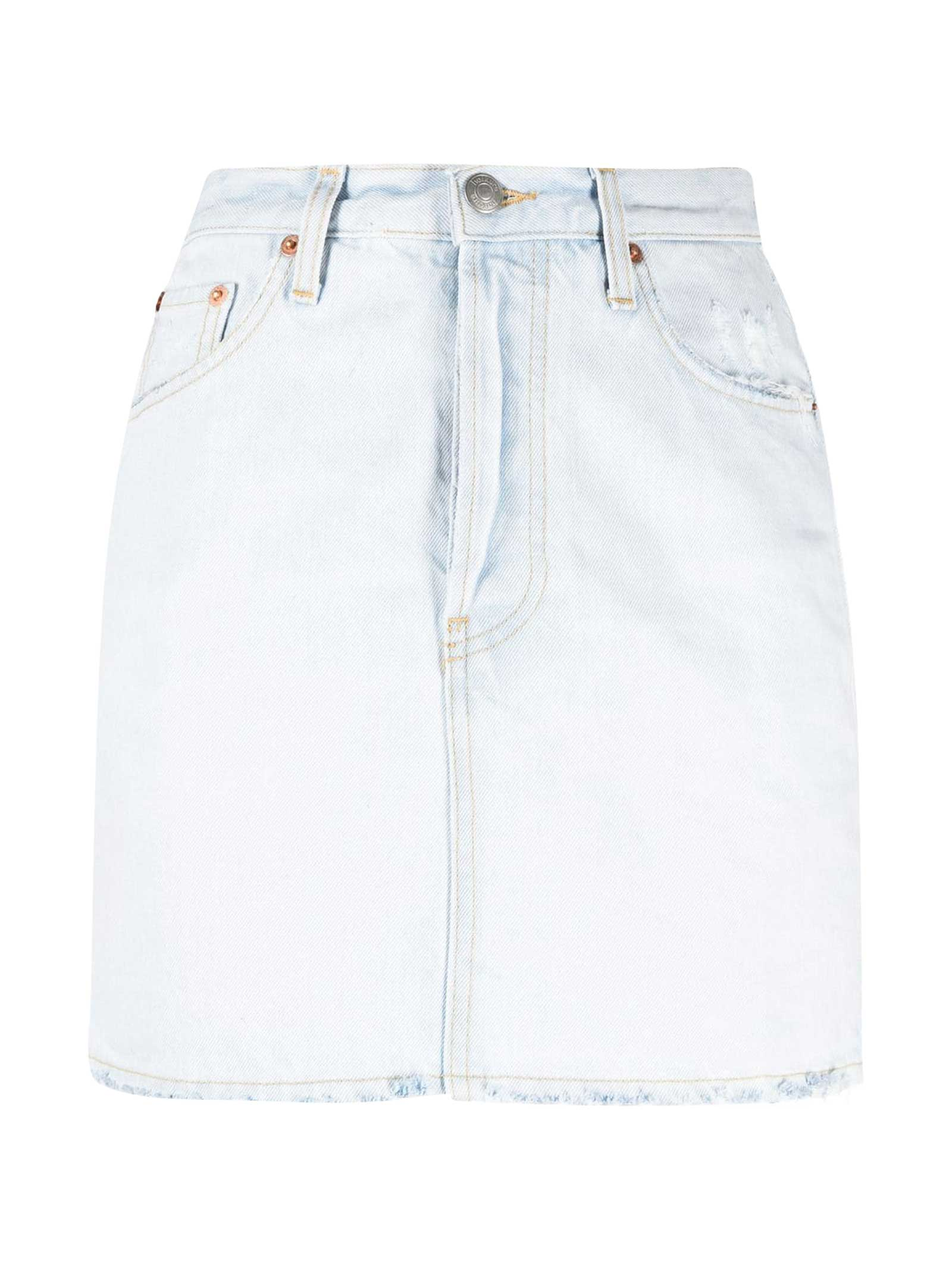 Haikure DENIM SKIRT GEORGIA MODEL