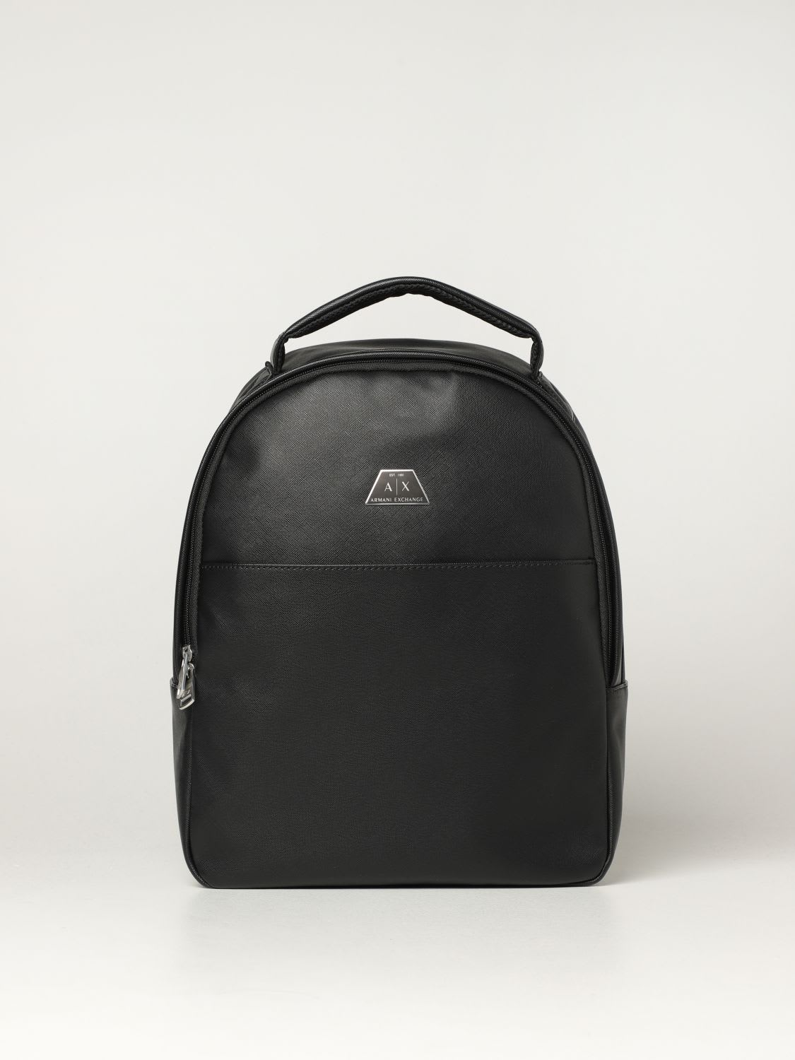 Armani Exchange Backpack Armani Exchange Backpack In Saffiano Synthetic Leather