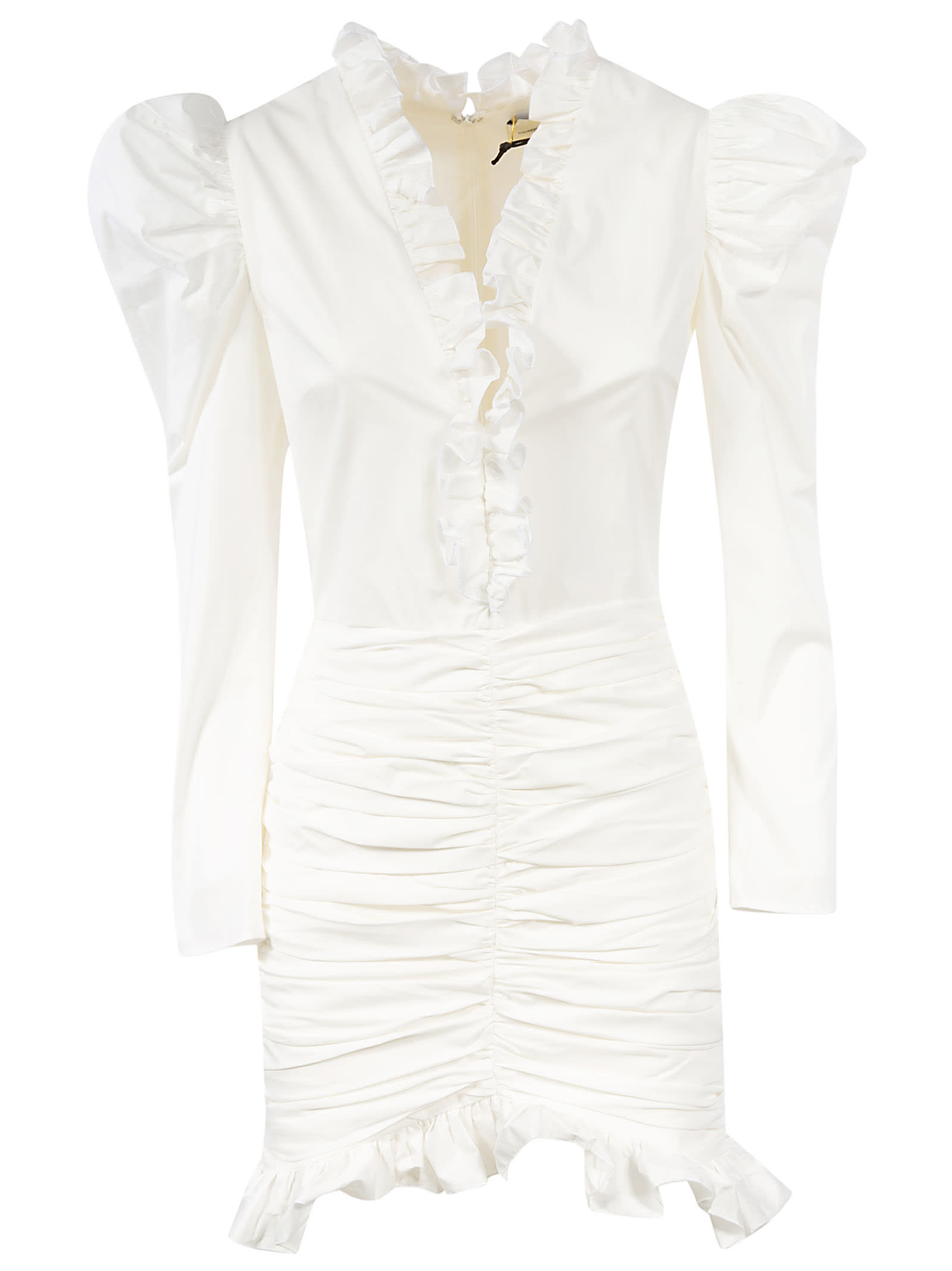 Buy Giuseppe di Morabito Ruffled Detail Mid-length Dress online, shop Giuseppe di Morabito with free shipping