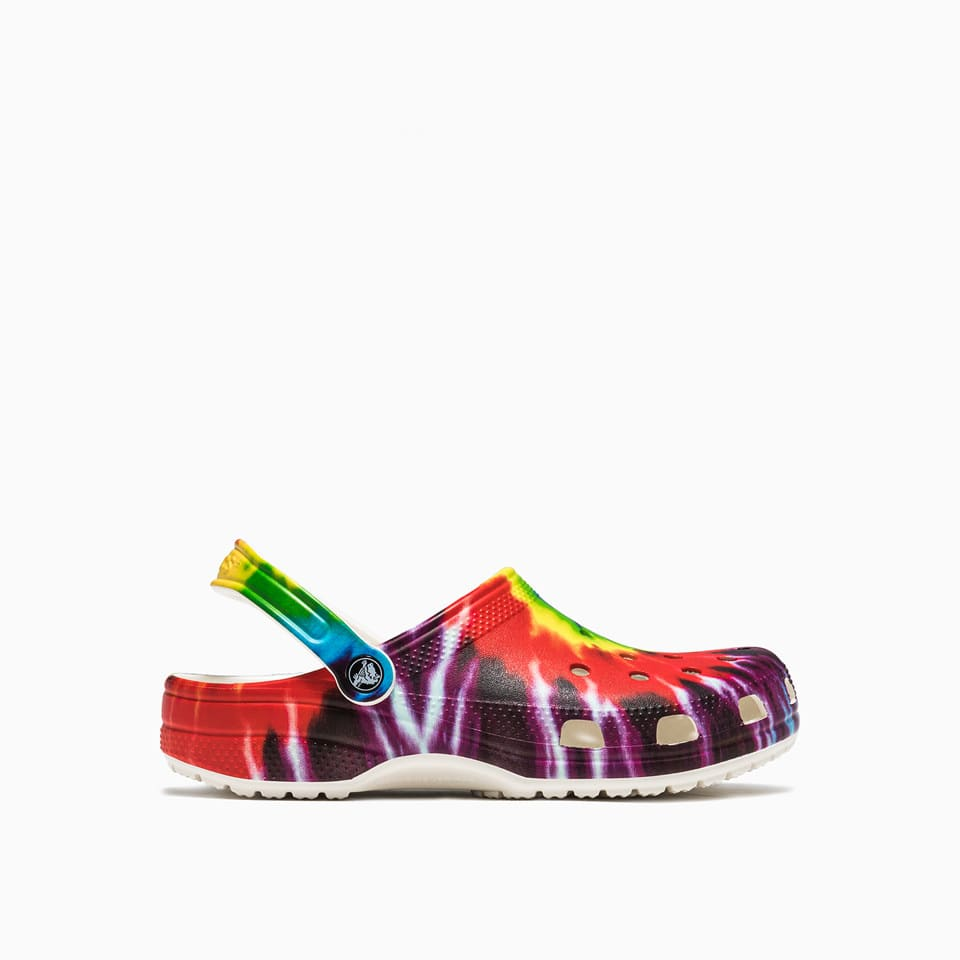 Crocs Slides CLASSIC TIE DYE GRAPHIC SLIDERS 205453