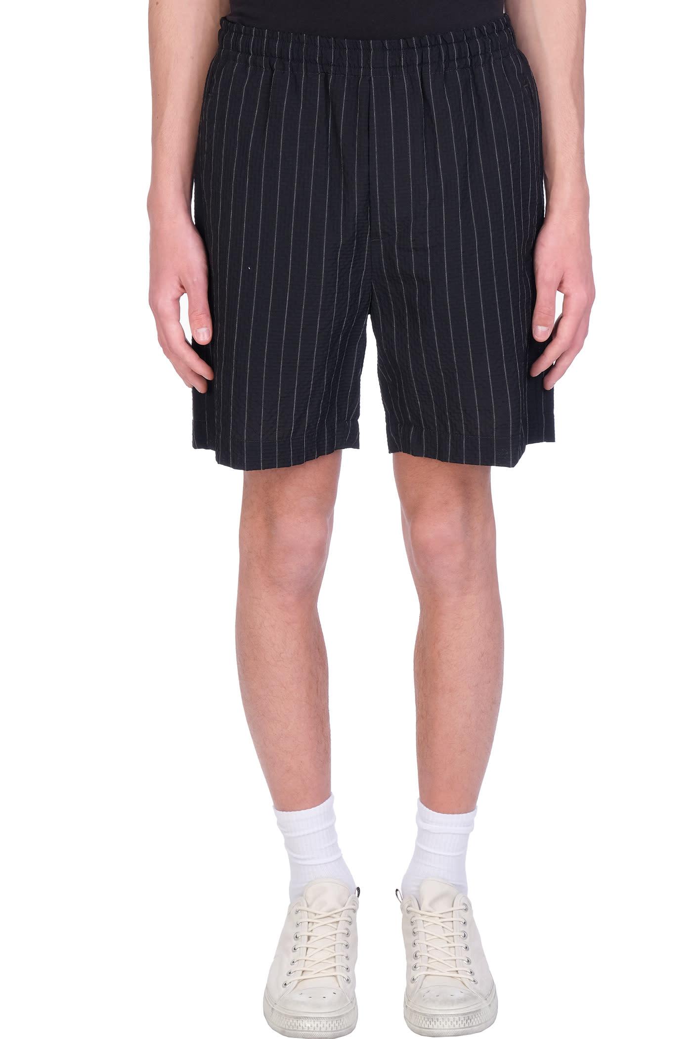 Shorts In Black Wool