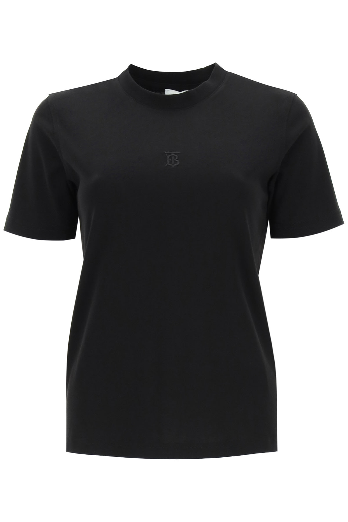 Burberry DOVEY T-SHIRT WITH MONOGRAM EMBROIDERY